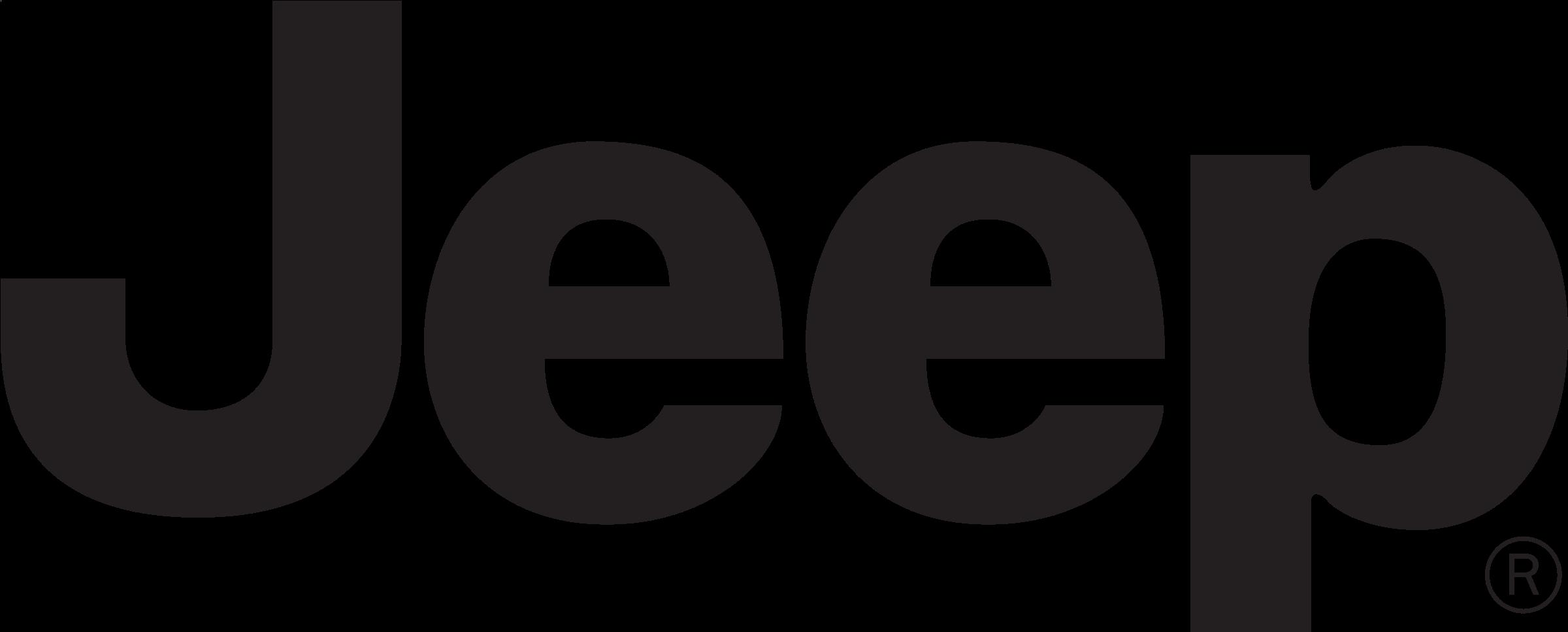 Black Jeep Logo Png