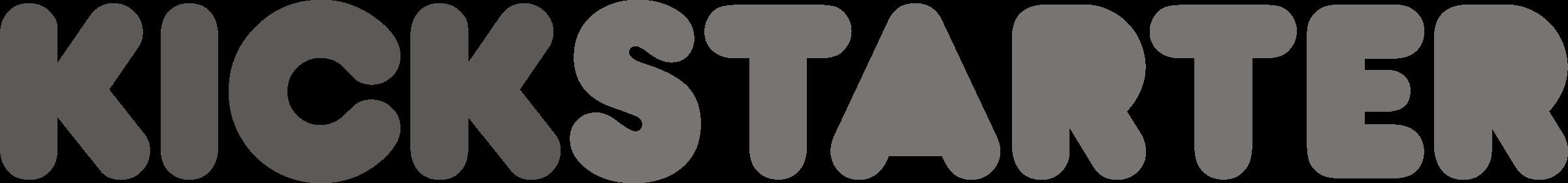Kickstarter grey Logo PNG Transparent & SVG Vector ...