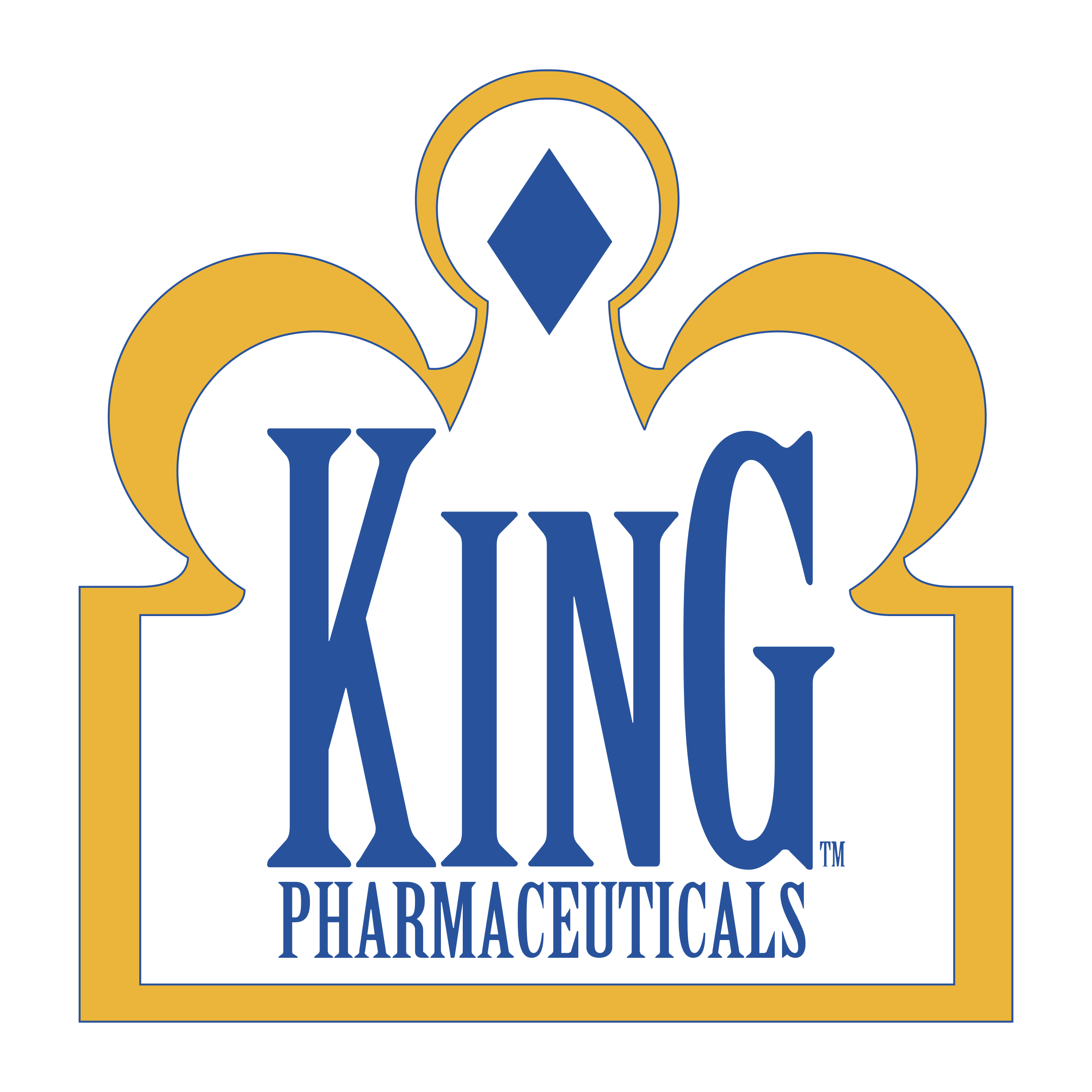 King Pharmaceuticals logo