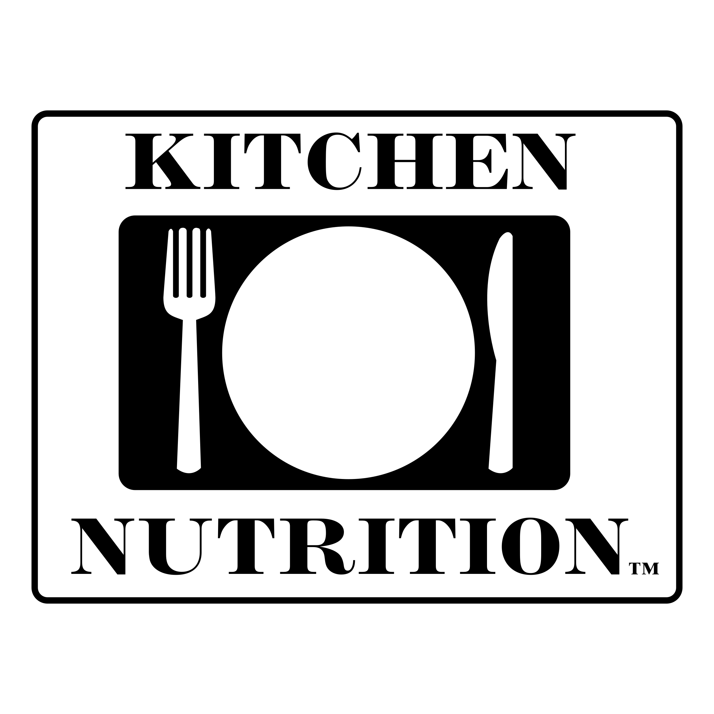 Kitchen Nutrition Logo PNG Transparent & SVG Vector - Freebie Supply