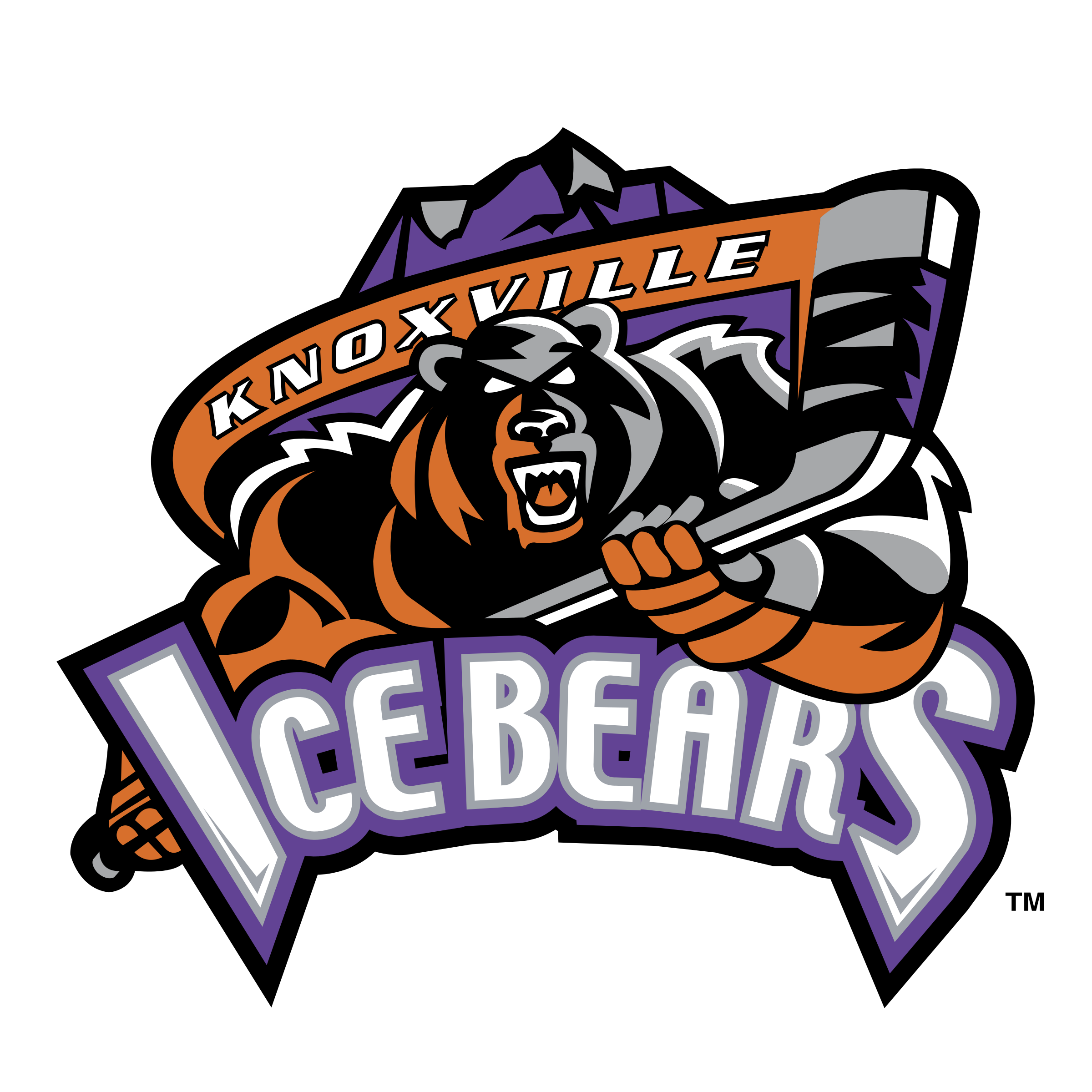 Knoxville Ice Bears Logo PNG Transparent & SVG Vector - Freebie Supply