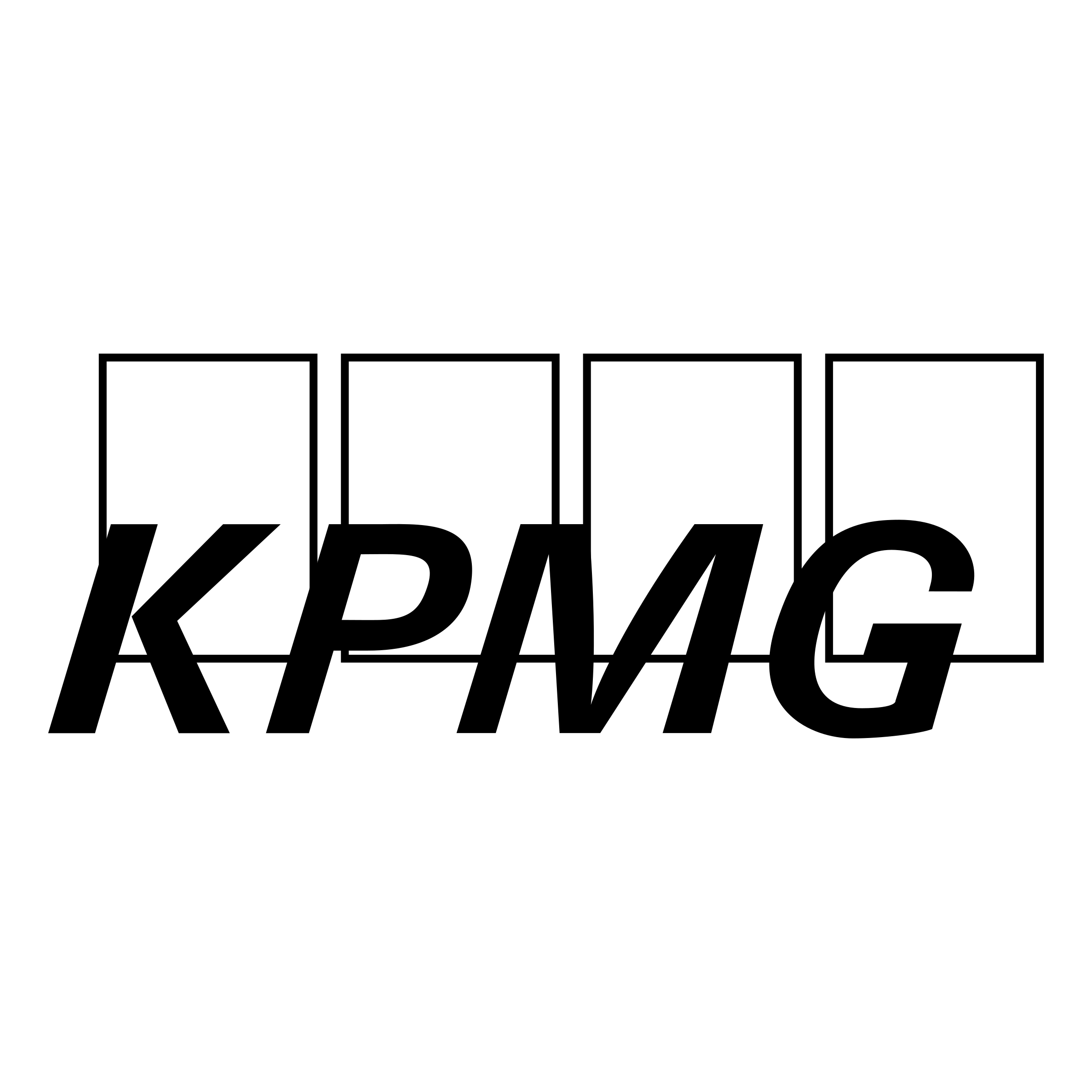 KPMG Logo PNG Transparent & SVG Vector - Freebie Supply