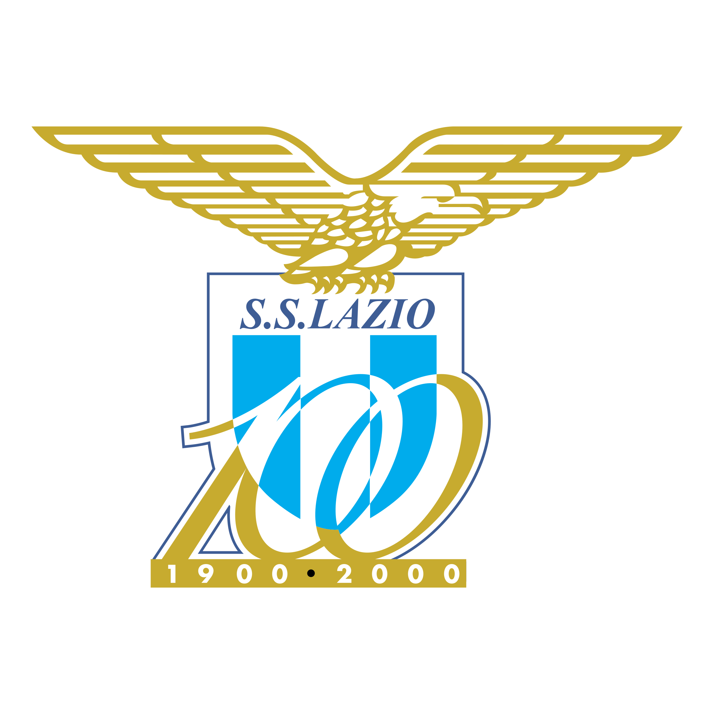 Lazio 100 Years Logo PNG Transparent & SVG Vector ...