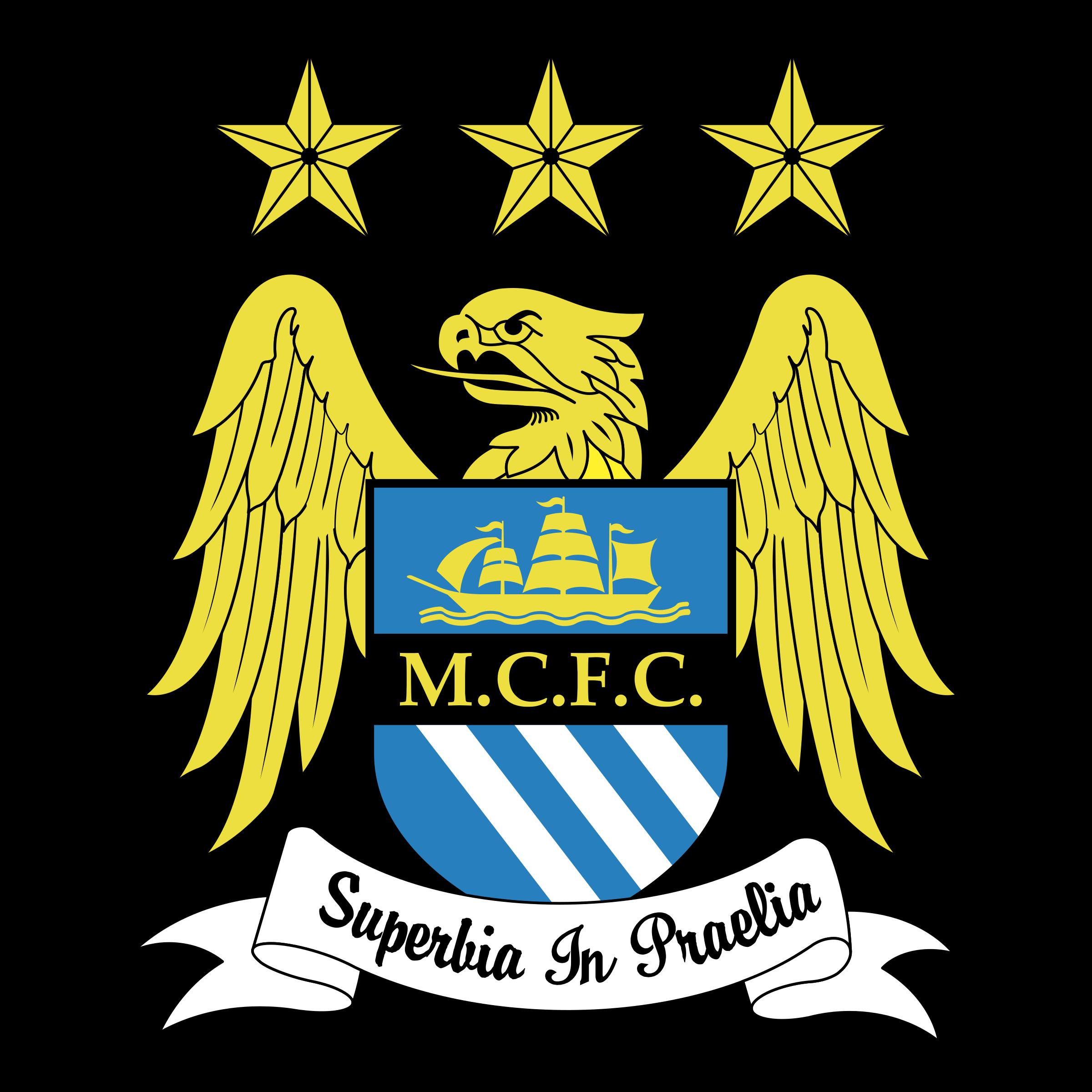 Manchester City FC Logo PNG Transparent & SVG Vector