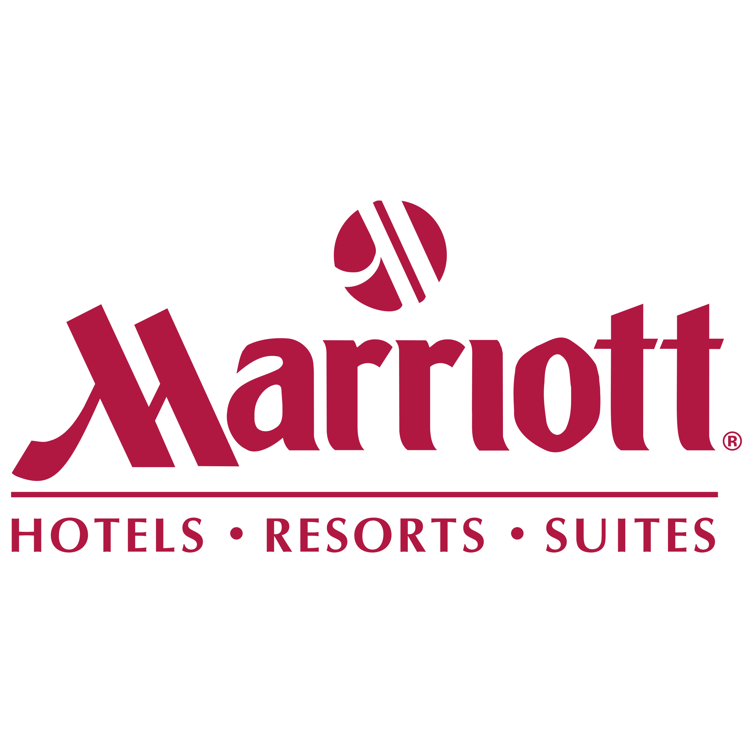 Marriott Hotels Resorts Suites Logo PNG Transparent