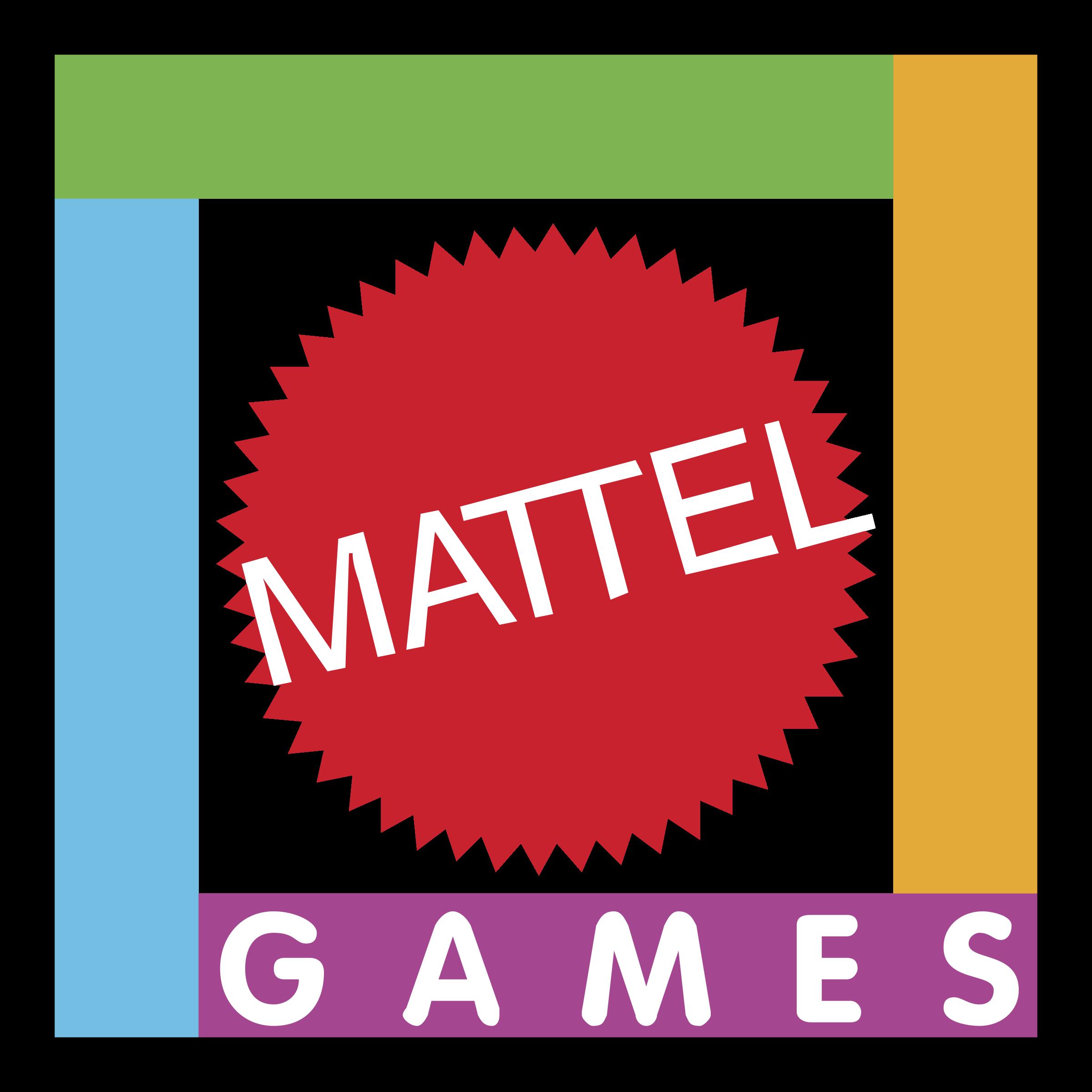 Mattel Games Logo Png Transparent Svg Vector Freebie Supply