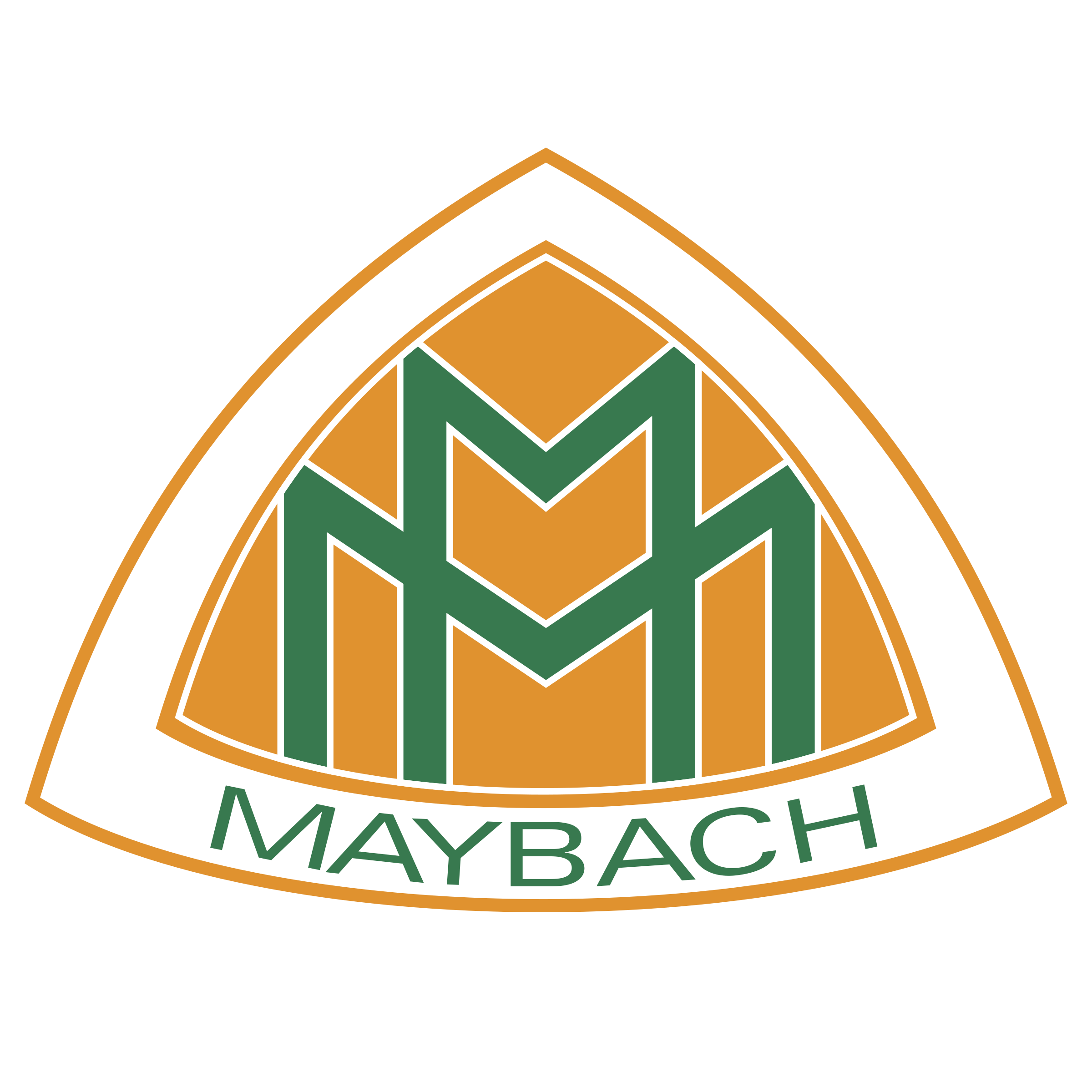 maybach logo png transparent & svg vector - freebie supply