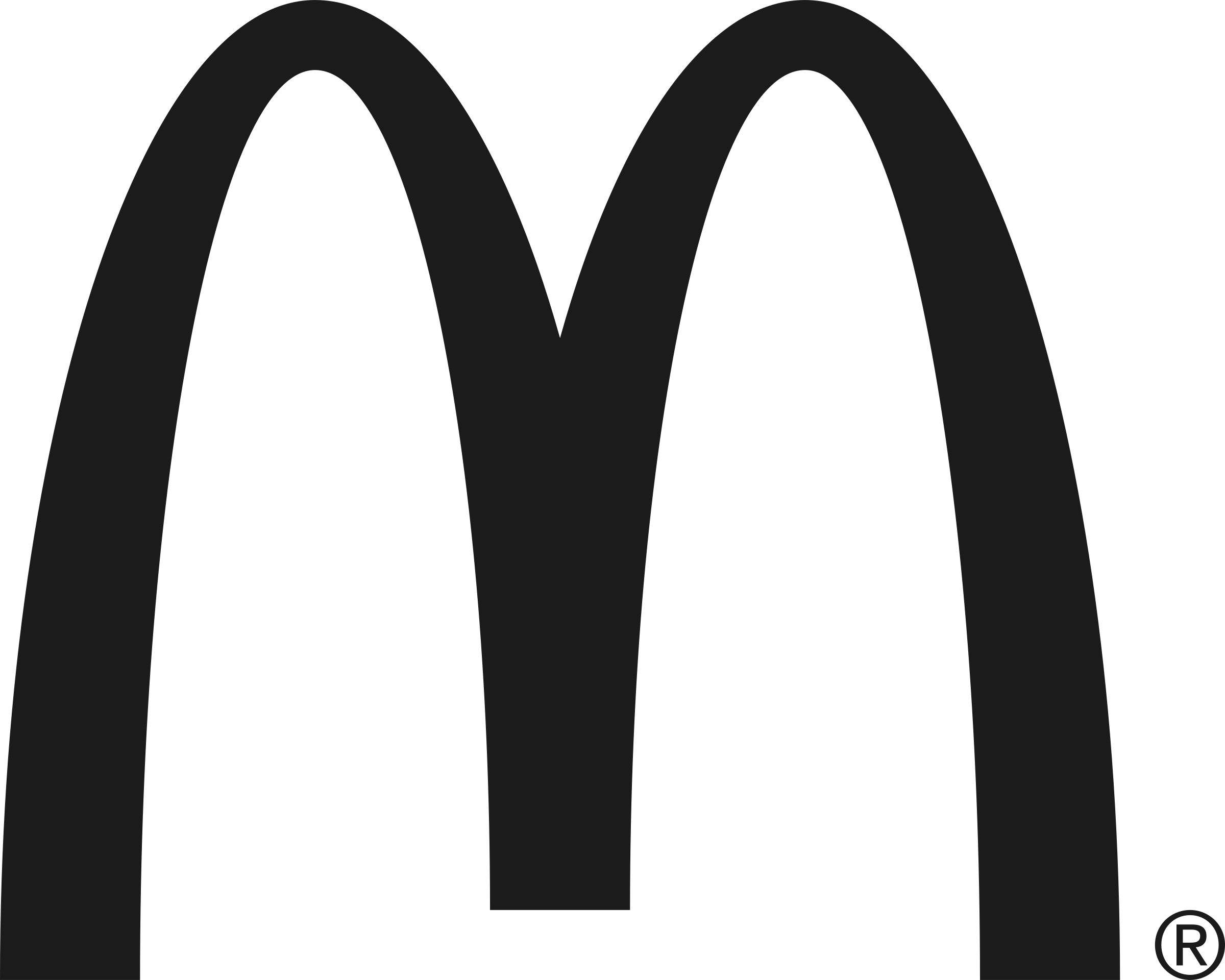 mcdonald s black logo png transparent svg vector freebie supply rh freebiesupply com mcdonald's logo vector download mcdonalds vector logo