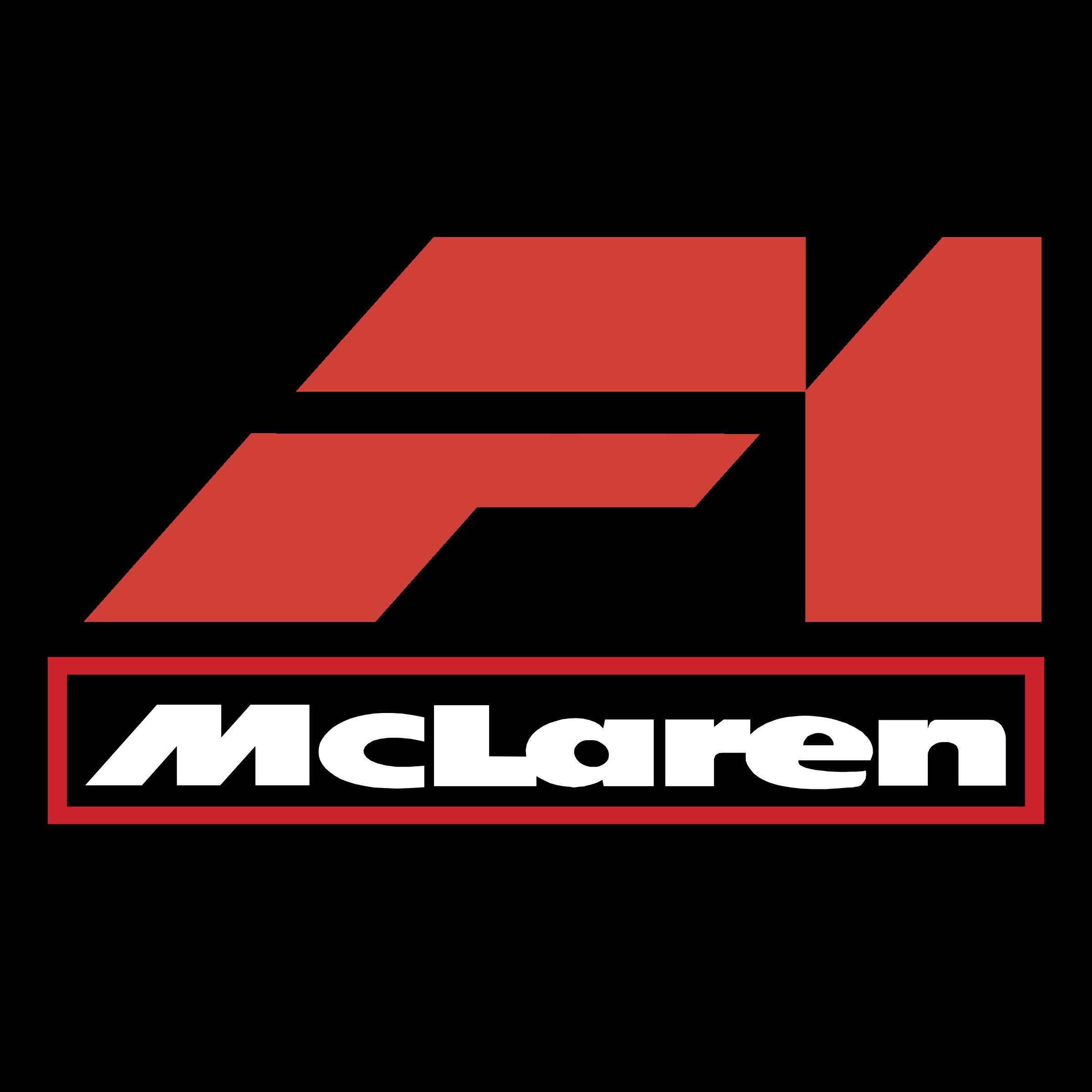 McLaren F1 Logo PNG Transparent & SVG Vector - Freebie Supply