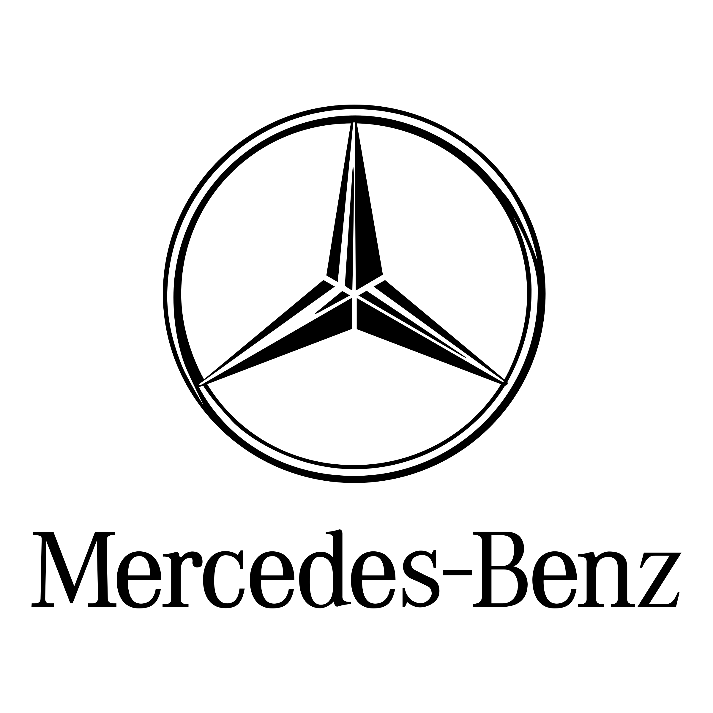 Mercedes Benz Logo Png Transparent Svg Vector Freebie Supply