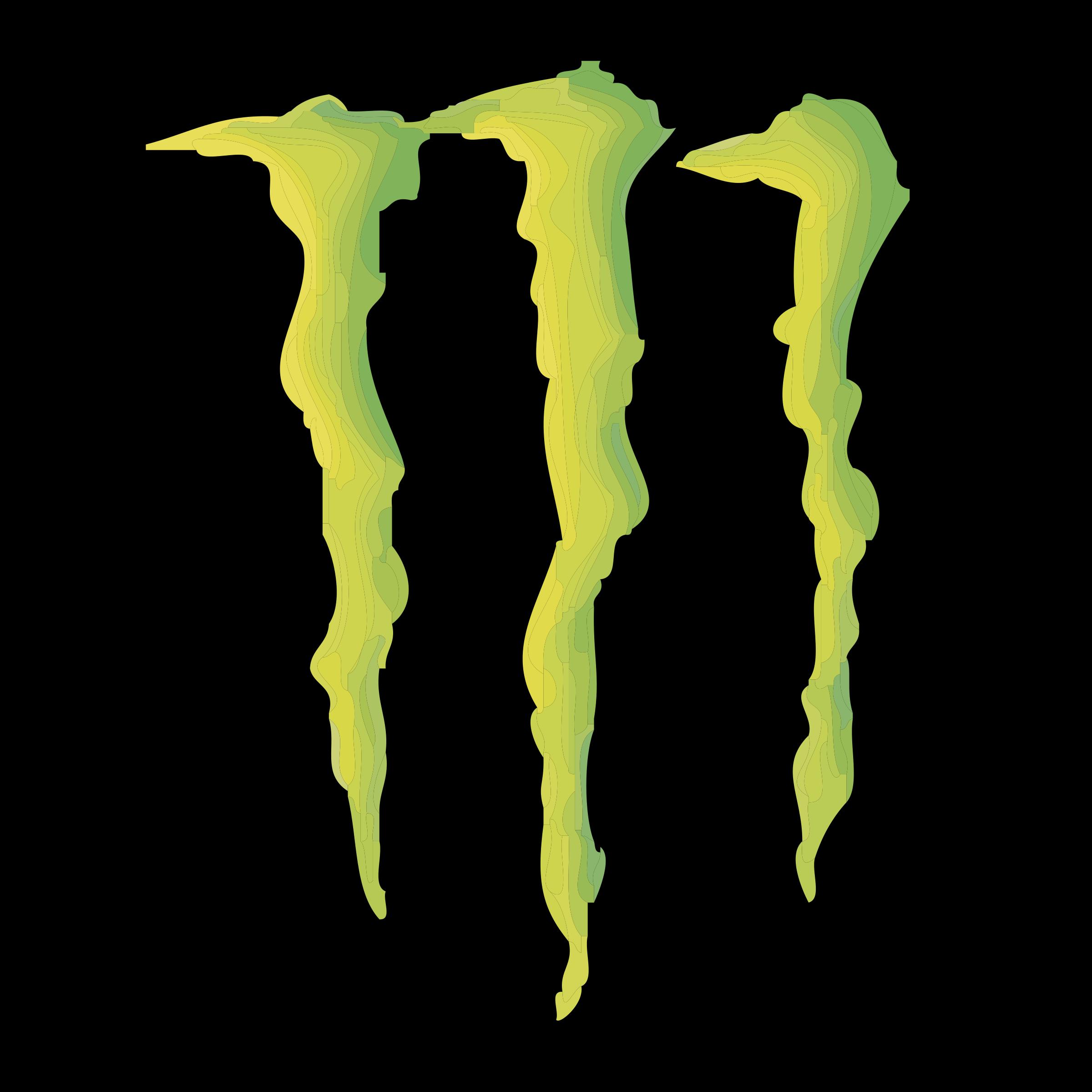 monster energy beverage co logo png transparent svg vector