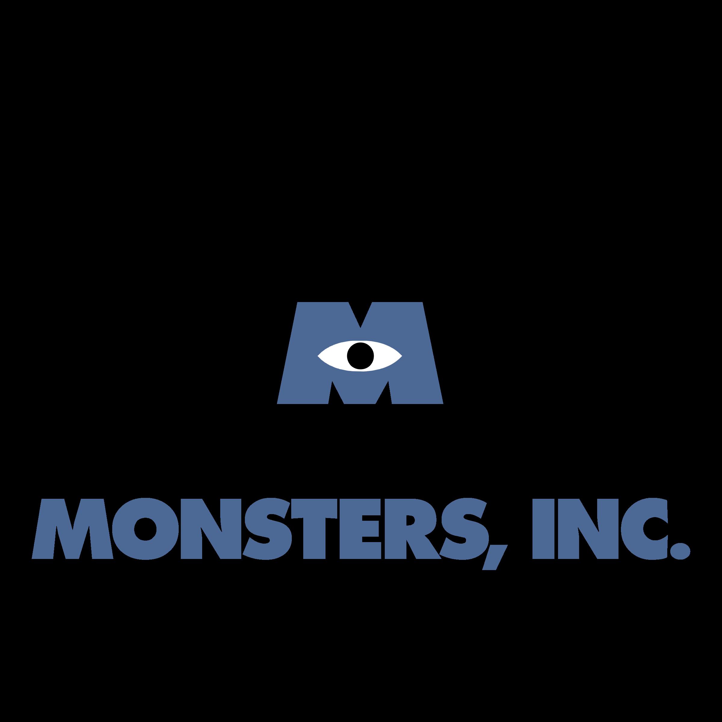 Monsters Inc Logo Png Transparent Svg Vector Freebie Supply