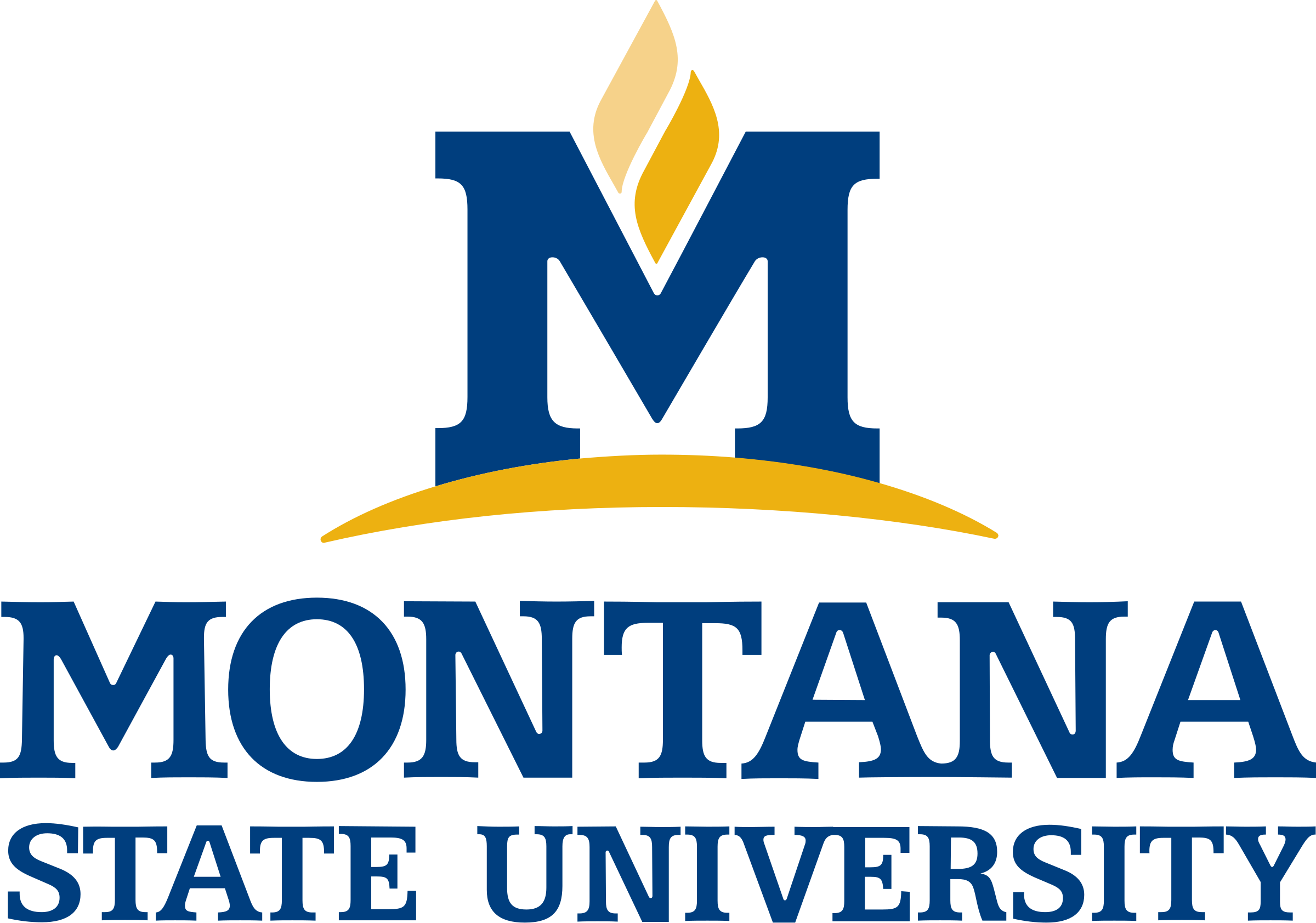 Montana State University Logo PNG Transparent & SVG Vector ...