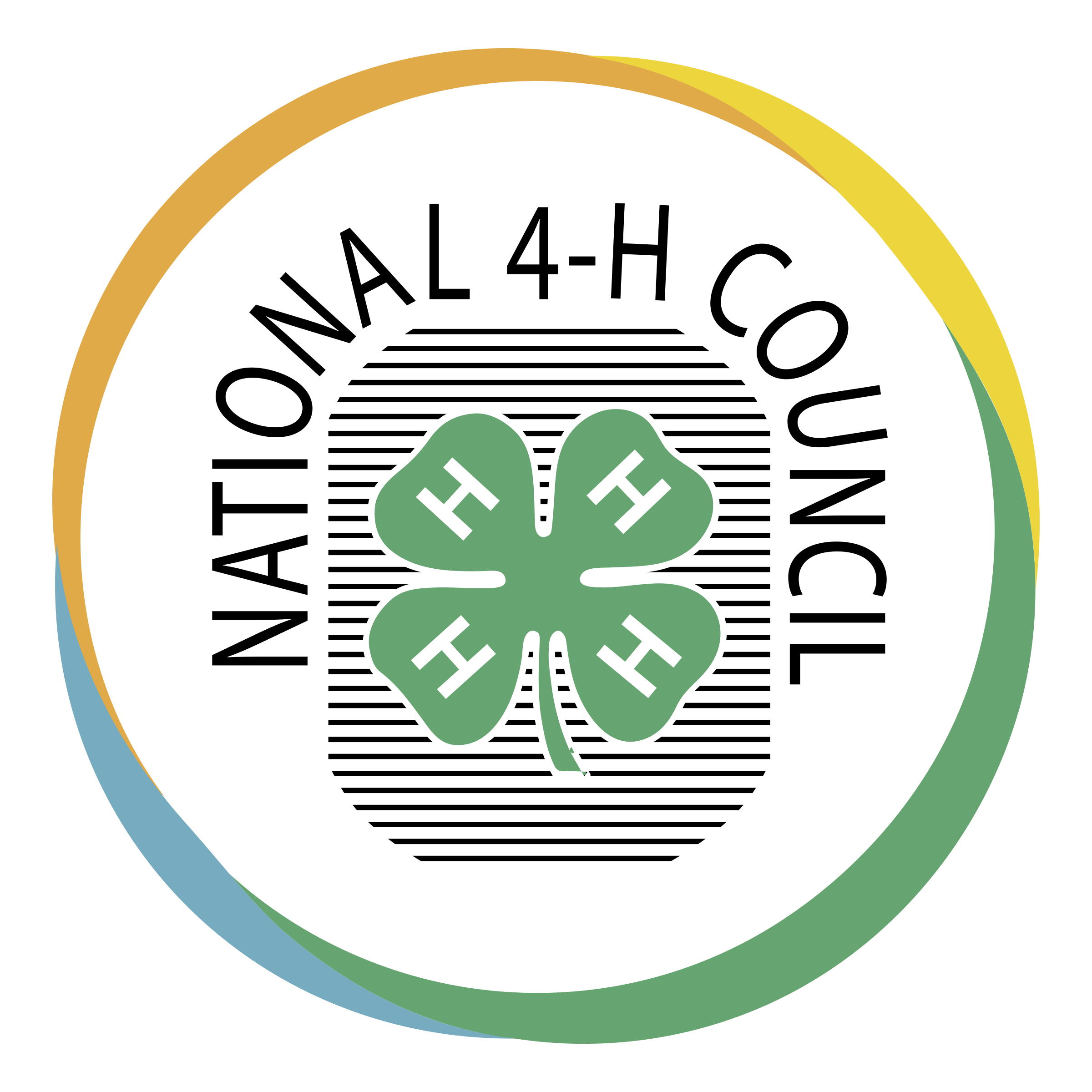 national 4 h council logo png transparent svg vector freebie supply