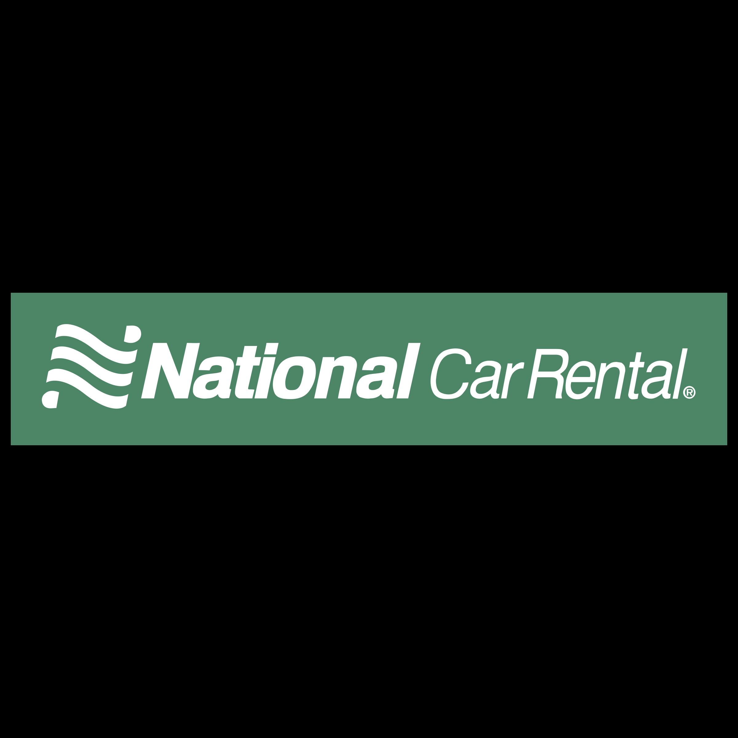 National Car Rental Logo PNG Transparent