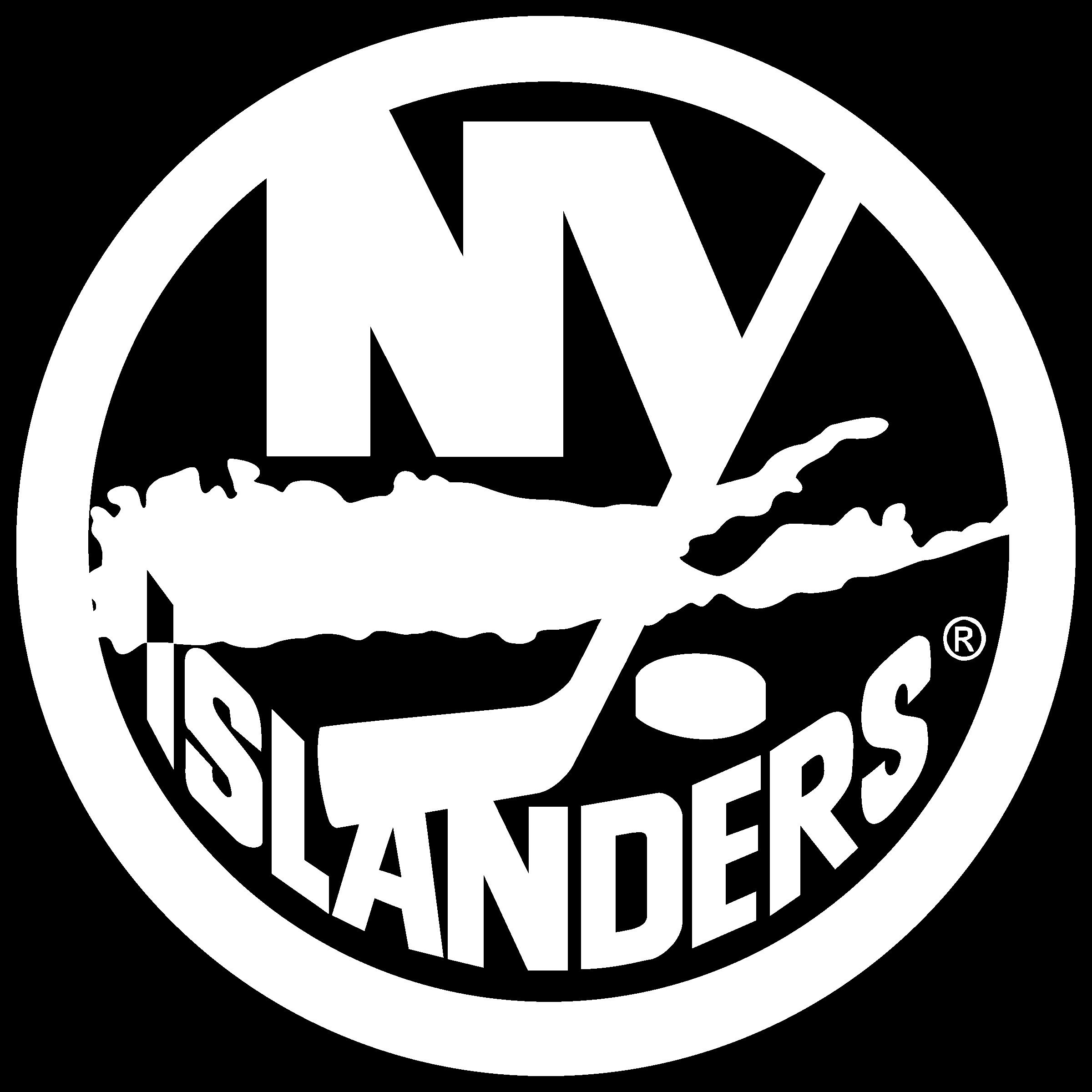 New York Islanders Logo Black And White