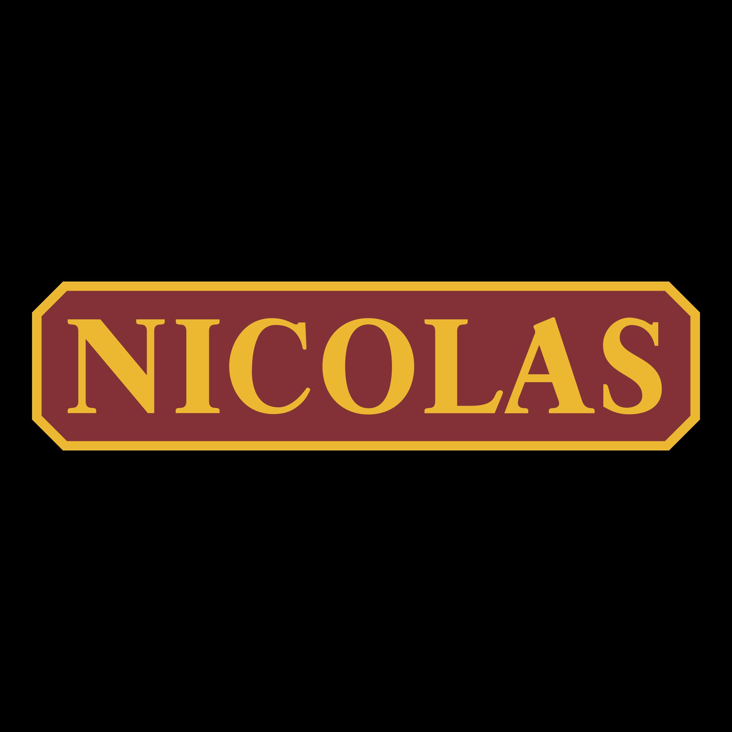 Nicolas logo png transparent