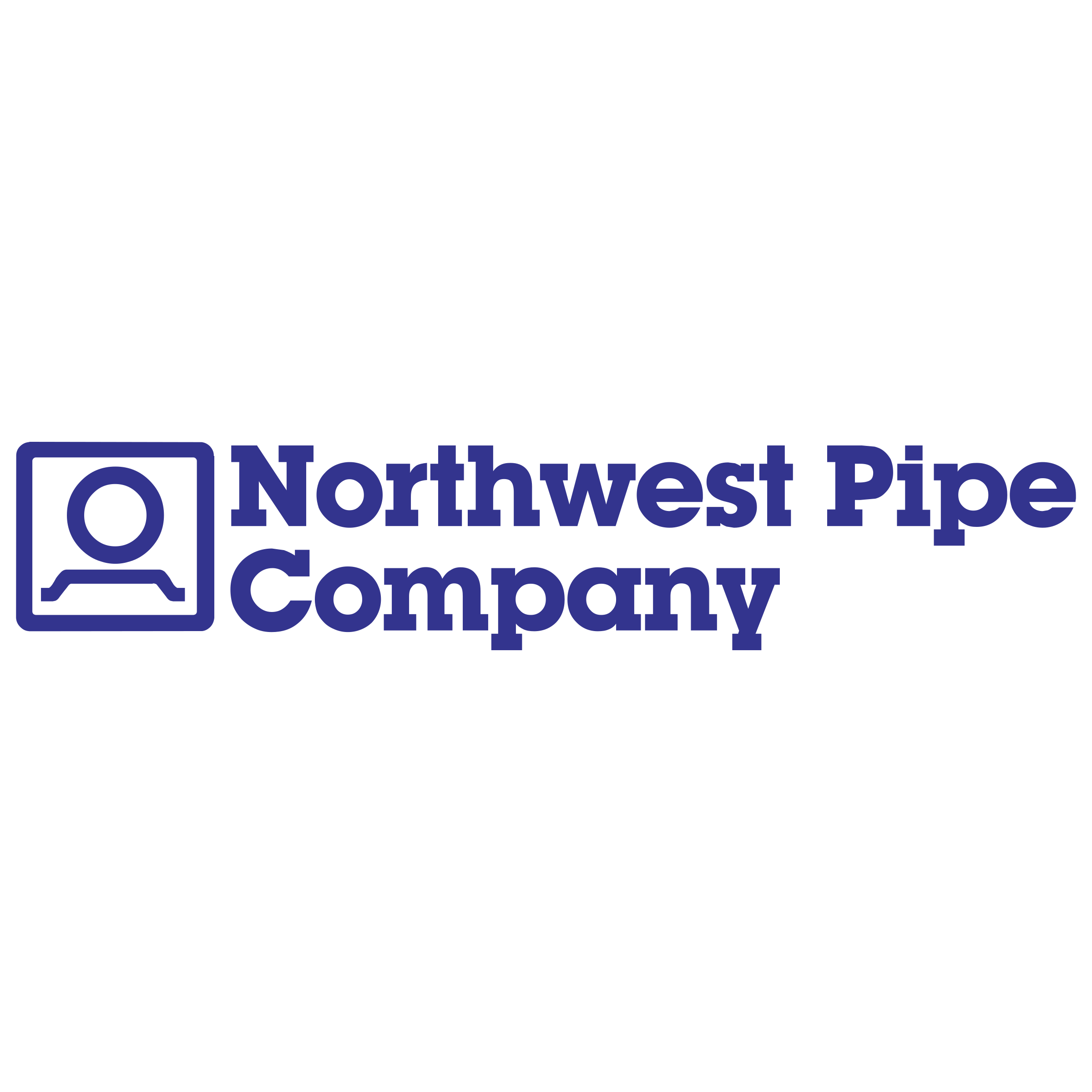 Northwest Pipe Company Logo PNG Transparent & SVG Vector