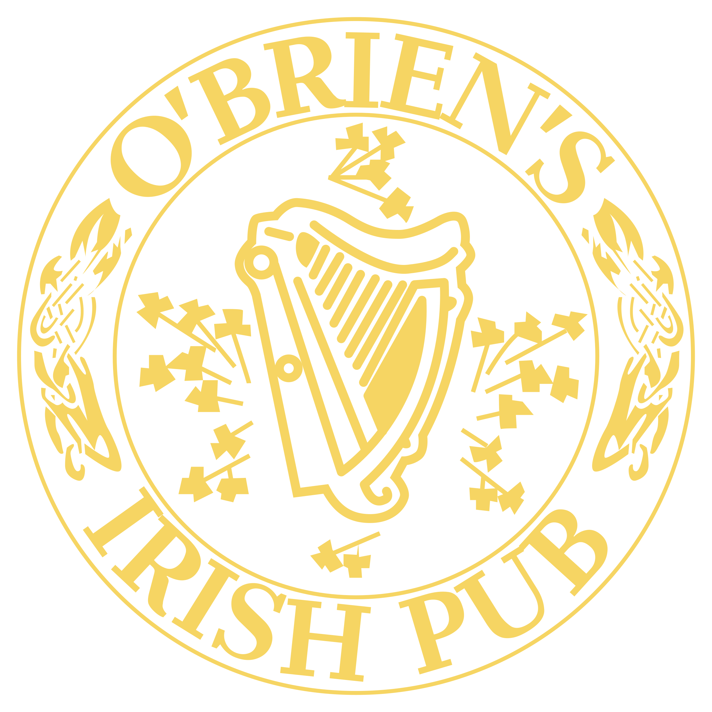 af6997c6056d7 O'Brien's Irish Pub Logo PNG Transparent & SVG Vector - Freebie Supply