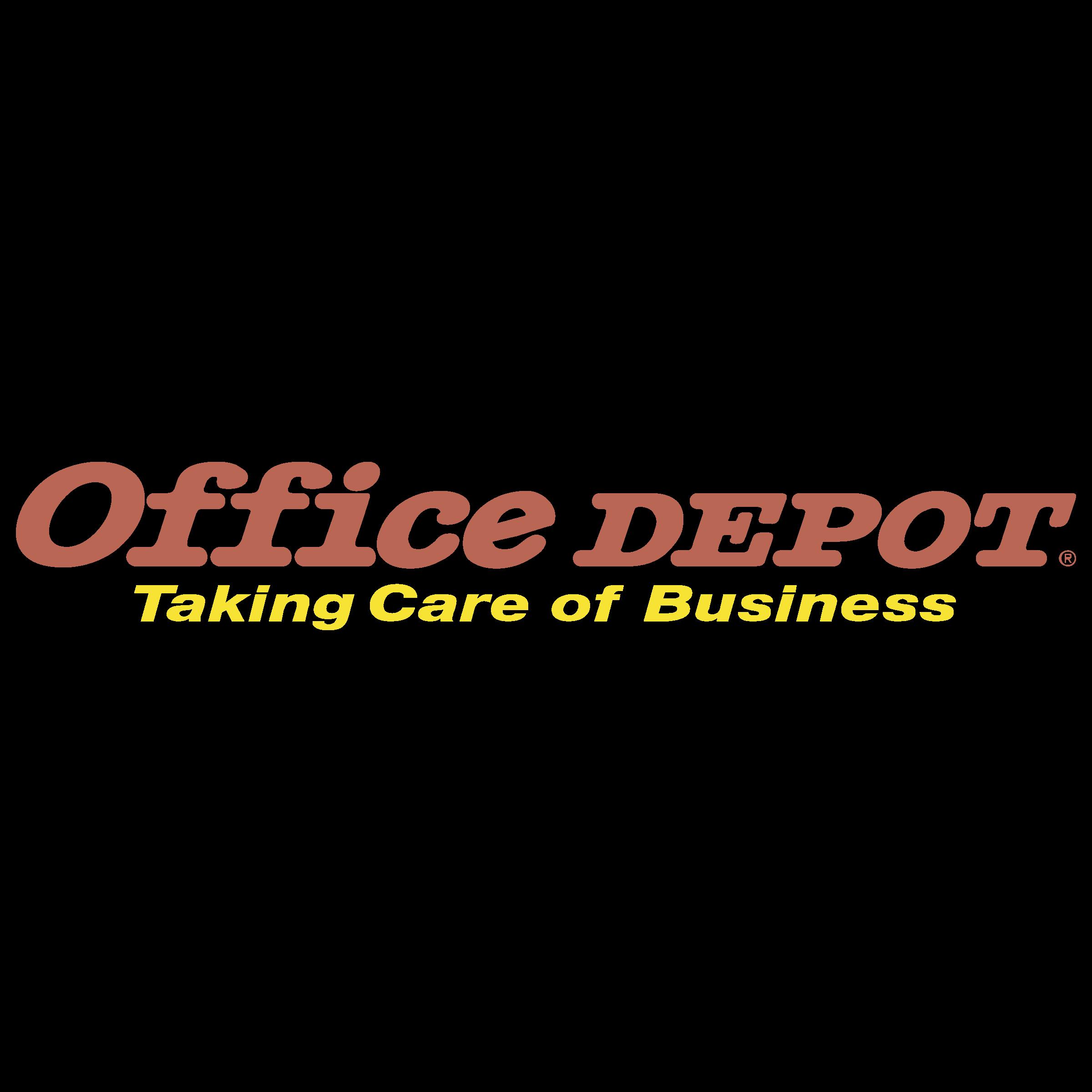 Office Depot Logo PNG Transparent
