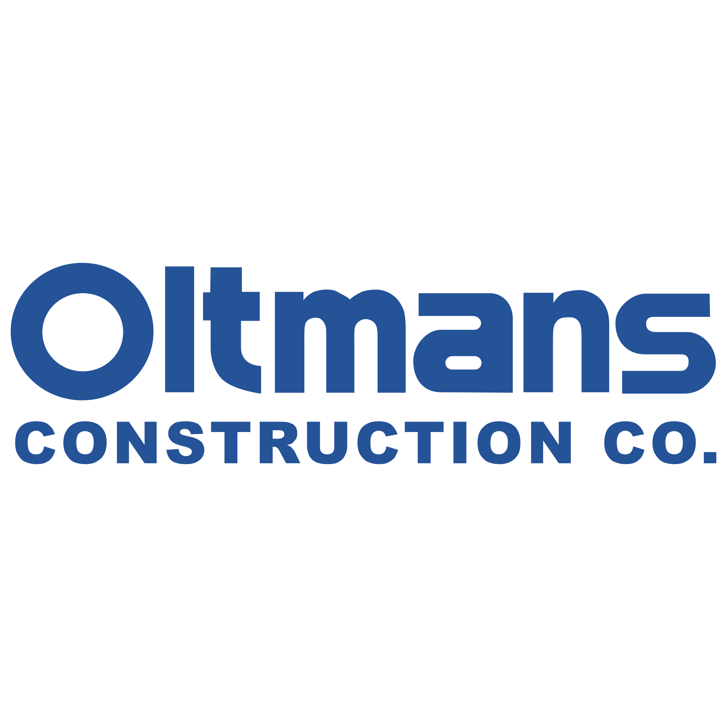 Oltmans Construction Logo PNG Transparent