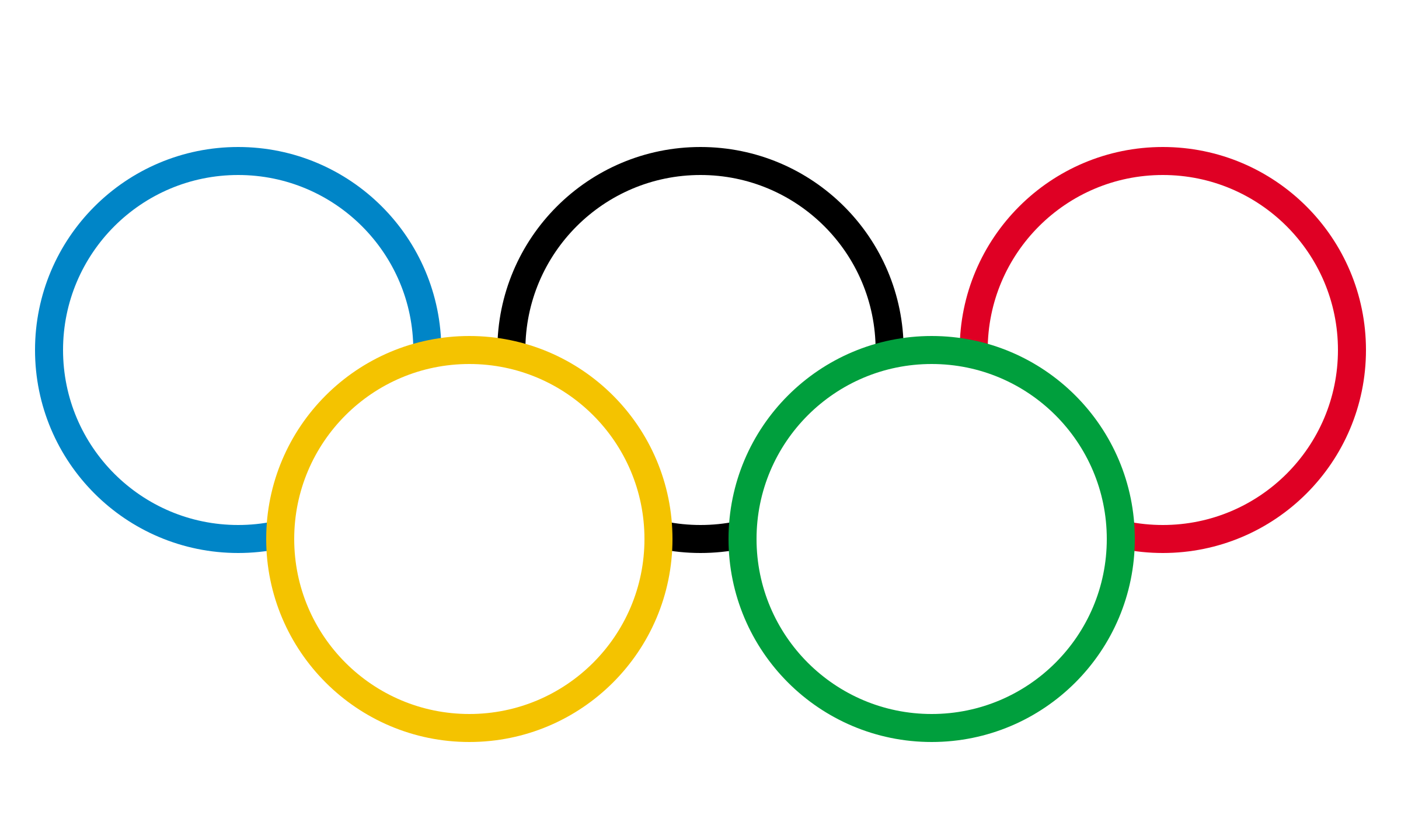 Olympic Logo PNG Transparent & SVG Vector - Freebie Supply