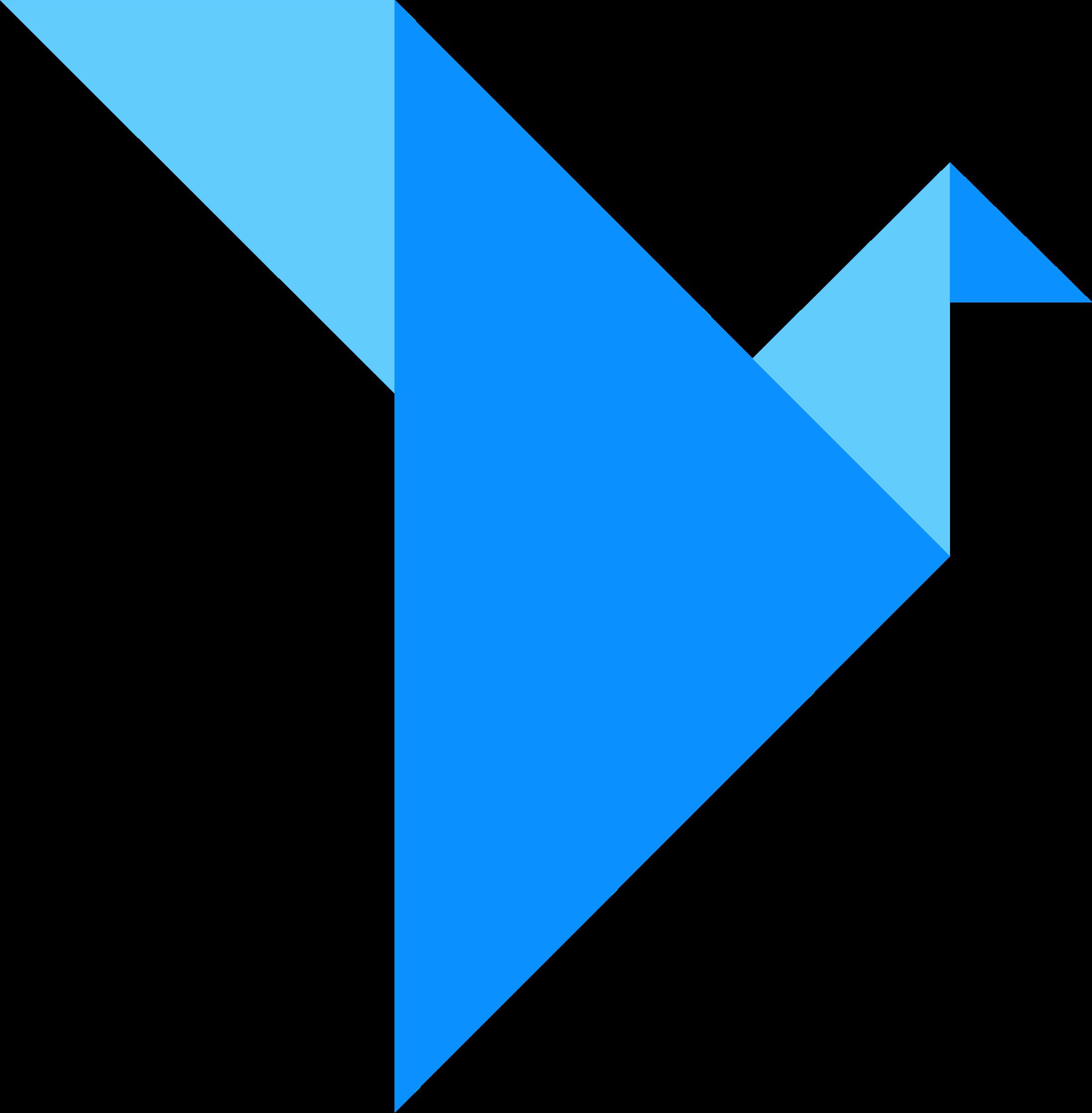 Origami Logo PNG Transparent