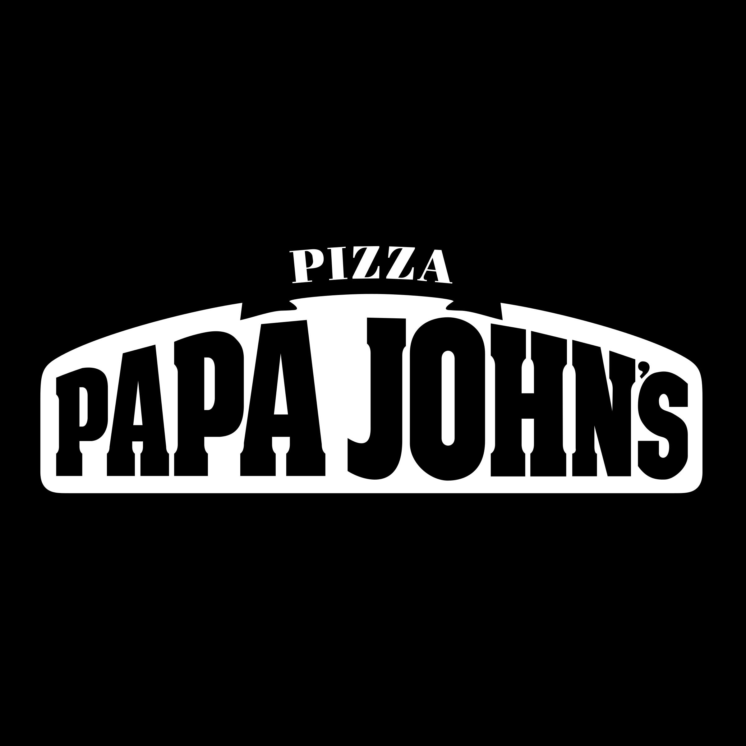 Papa John\'s Pizza Logo PNG Transparent & SVG Vector - Freebie Supply