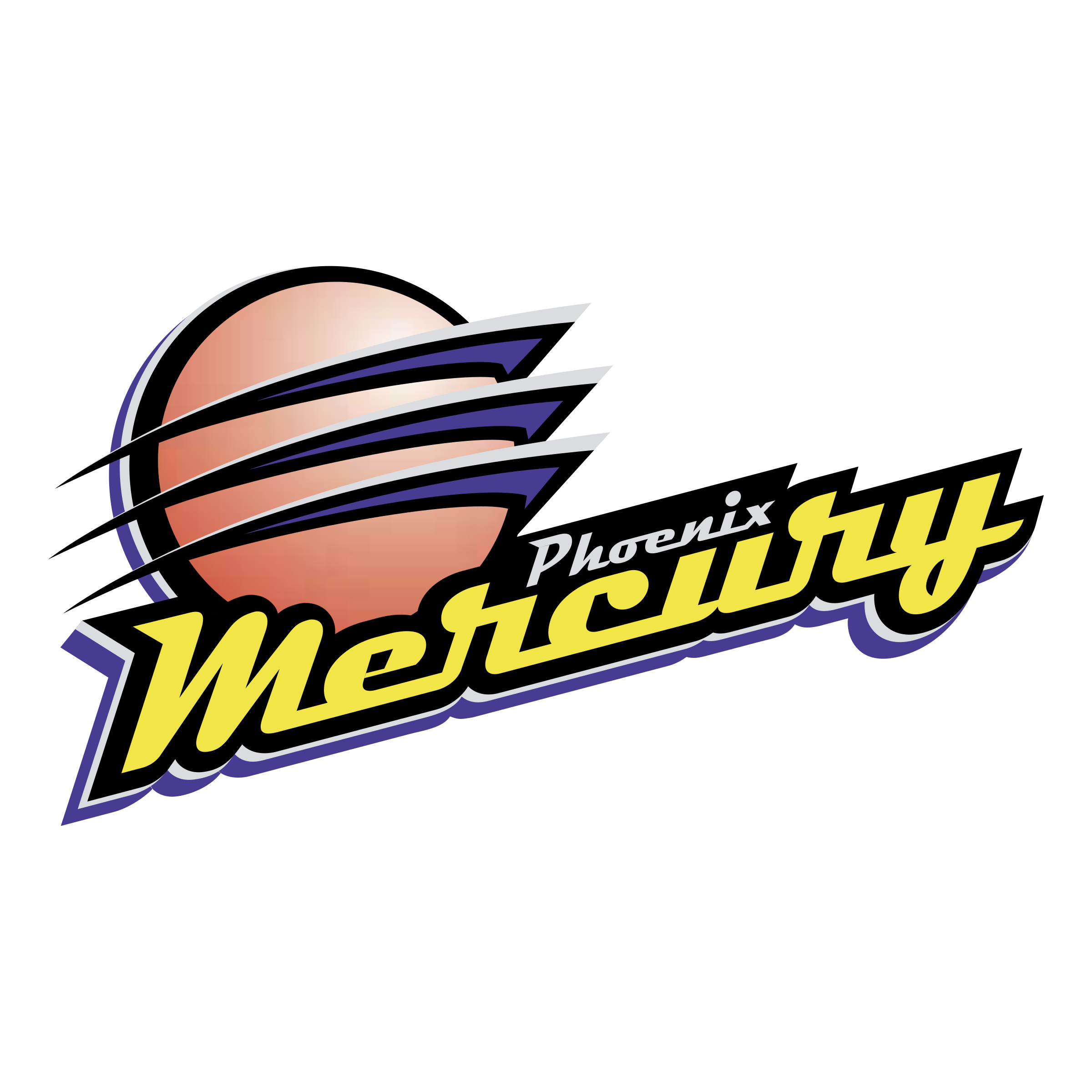phoenix mercury logo png transparent svg vector freebie supply rh freebiesupply com phoenix mercury logo vector