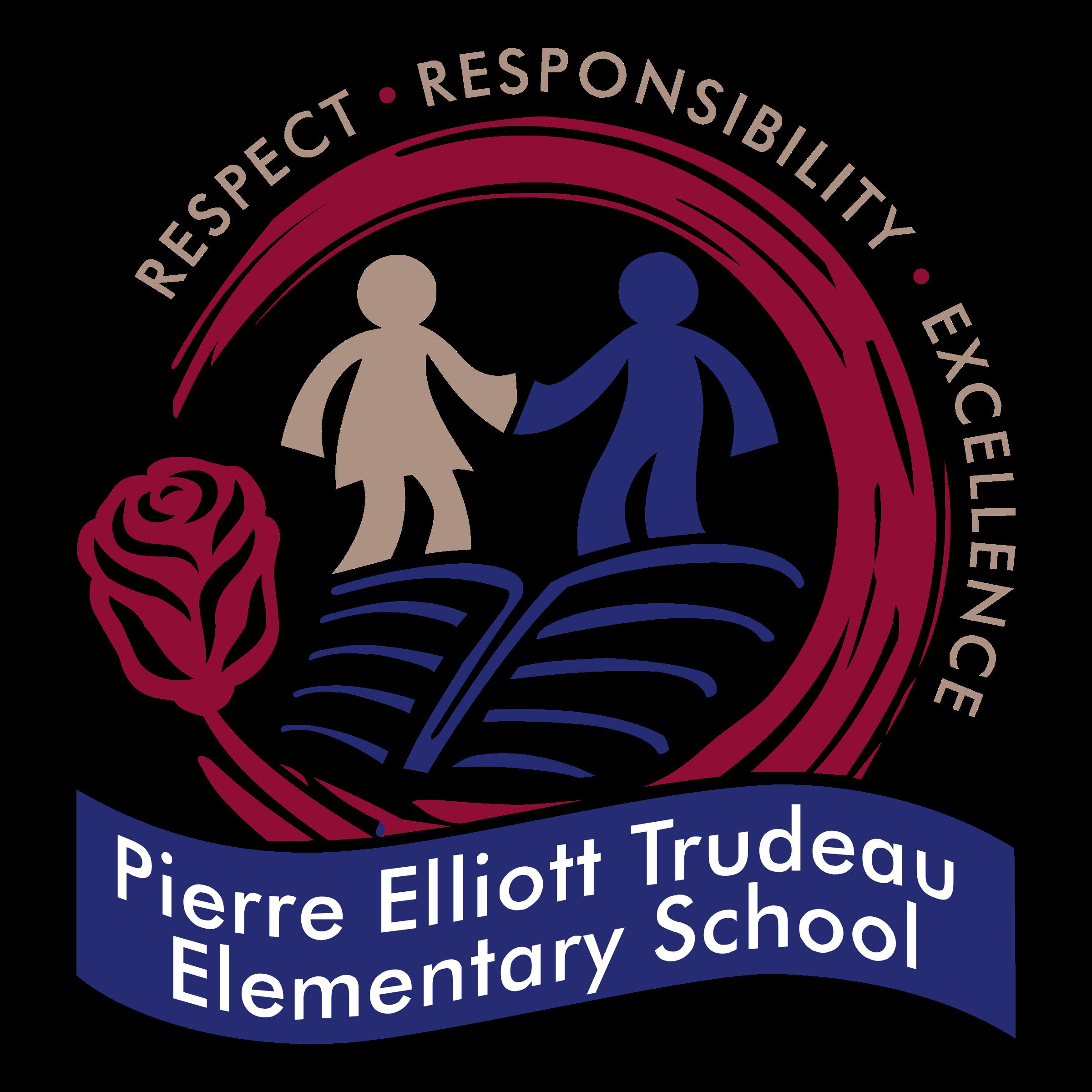 Pierre Elliott Trudeau Elementary School Logo Png Transparent Svg Vector Freebie Supply
