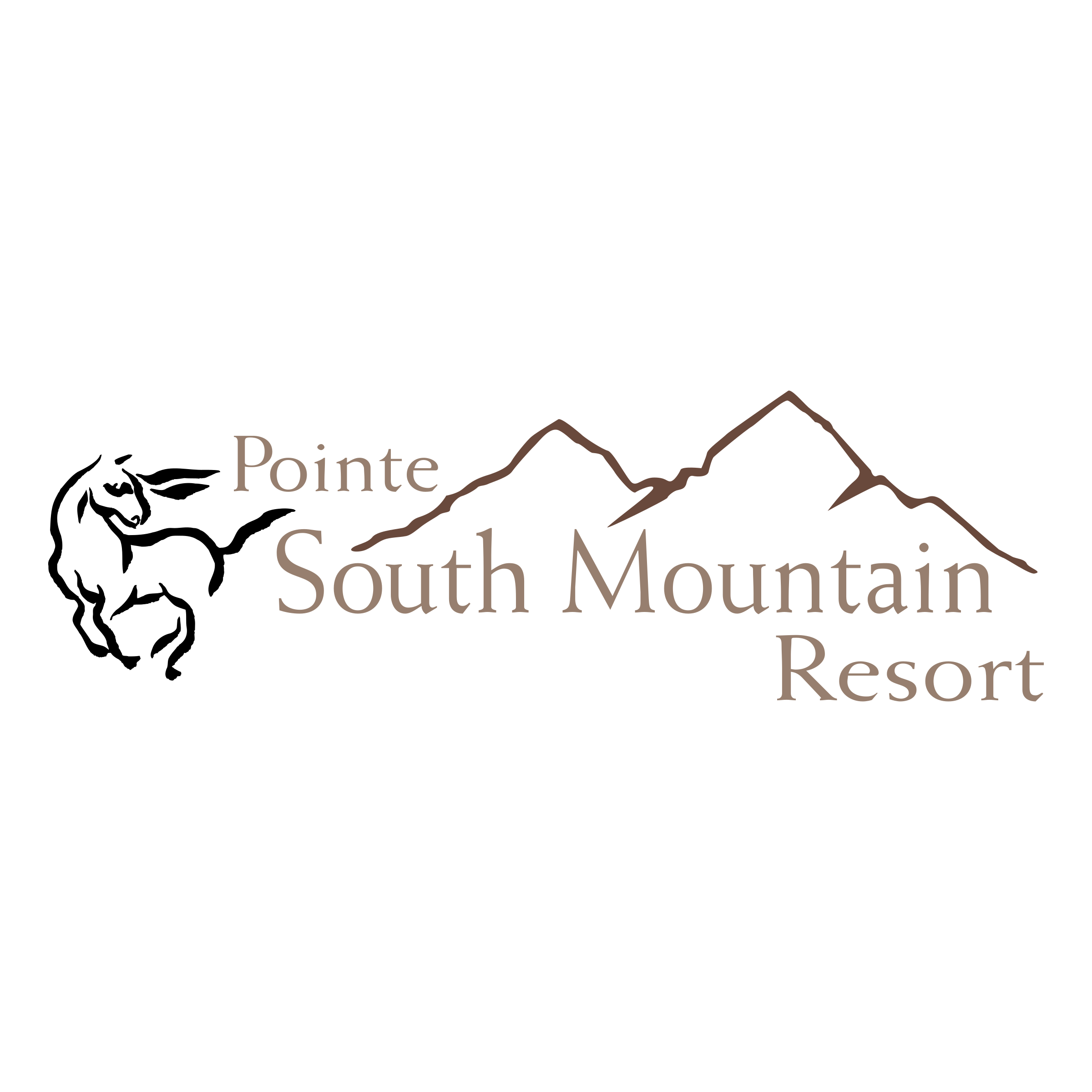 pointe south mountain resort logo png transparent & svg vector