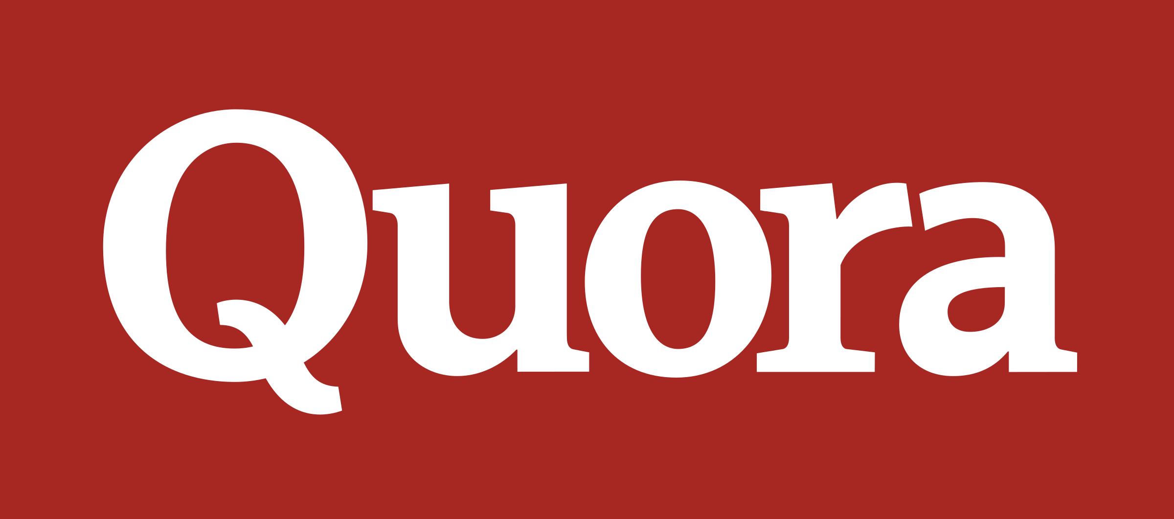 Quora Logo PNG Transparent & SVG Vector - Freebie Supply