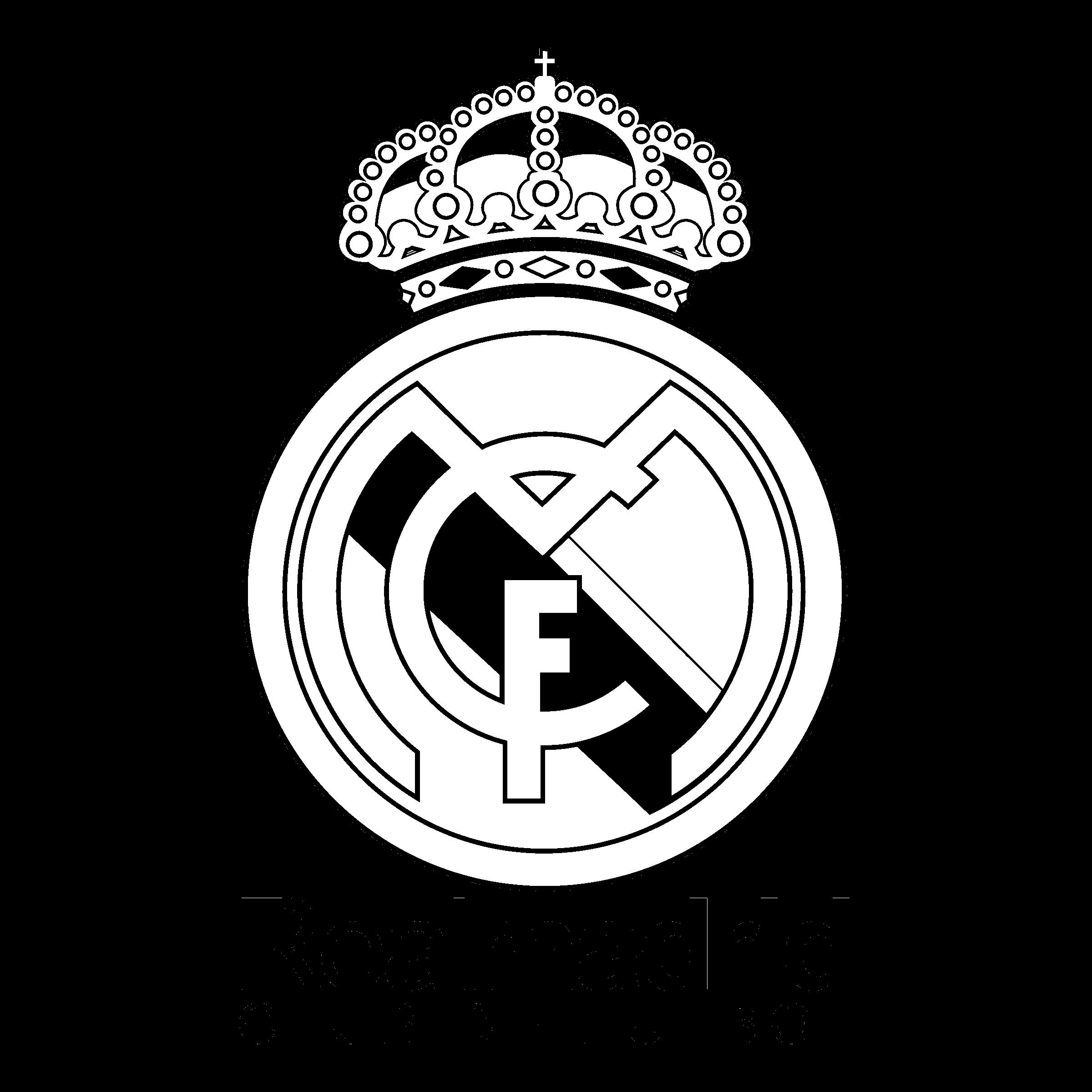 Real madrid logo 3d png