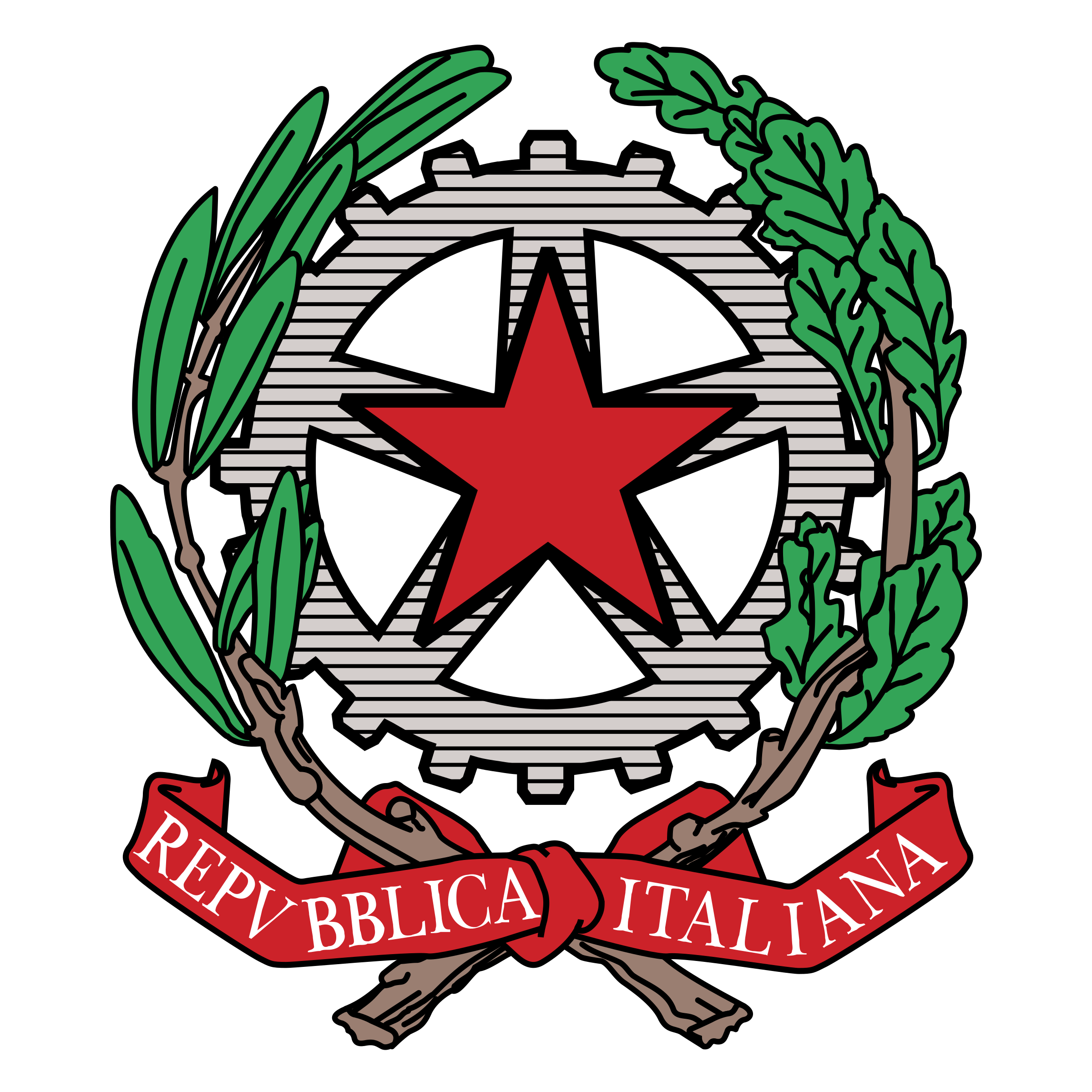Repubblica italiana logo png transparent svg vector for Repubblica homepage it