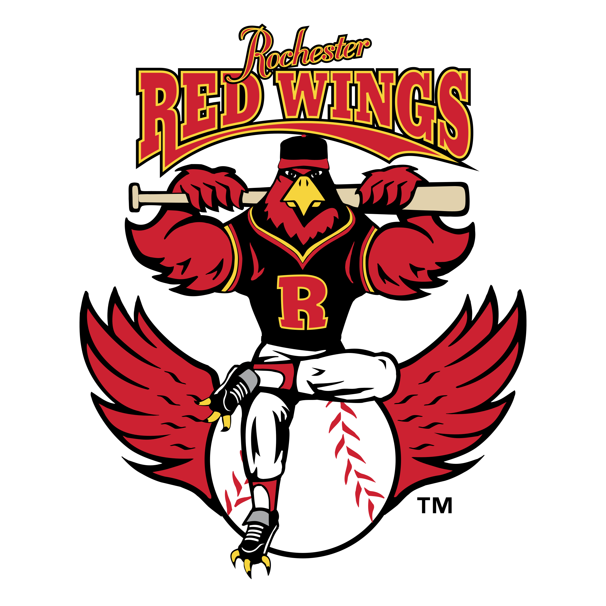 Rochester Red Wings Logo Png Transparent Svg Vector Freebie Supply