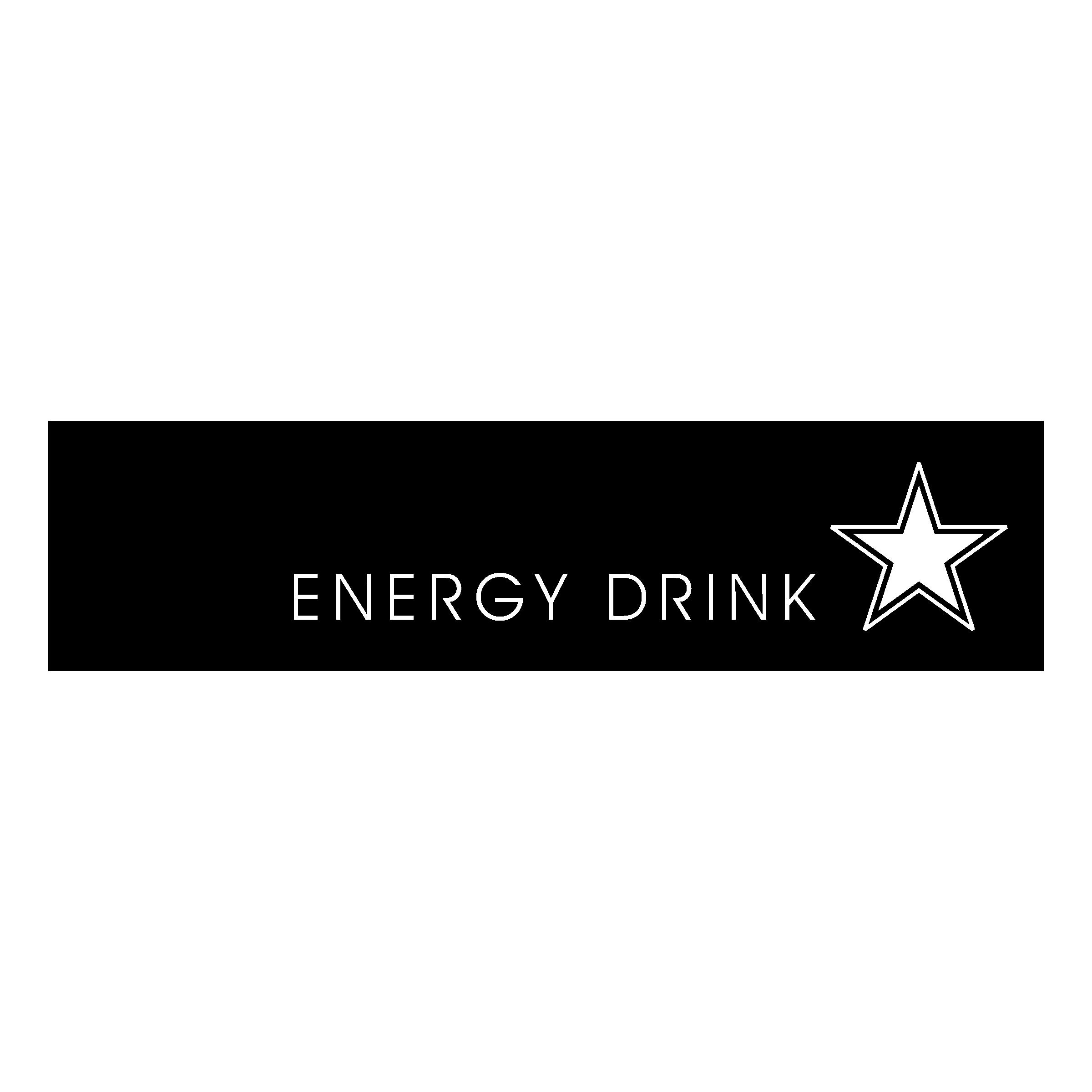 Rockstar energy drink logo black and white
