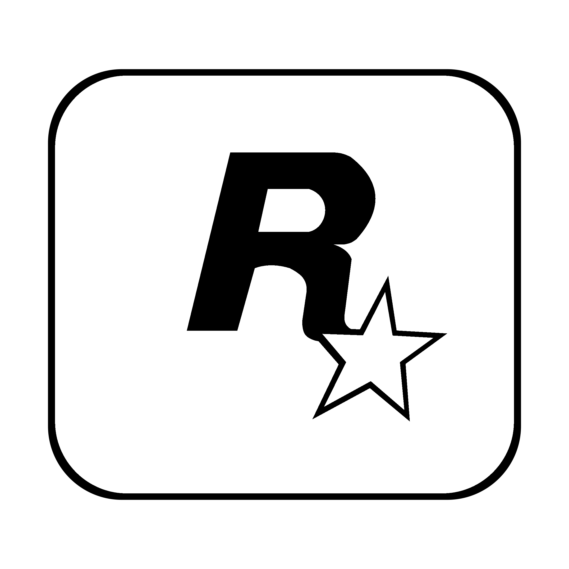 rockstar logo png transparent svg vector freebie supply