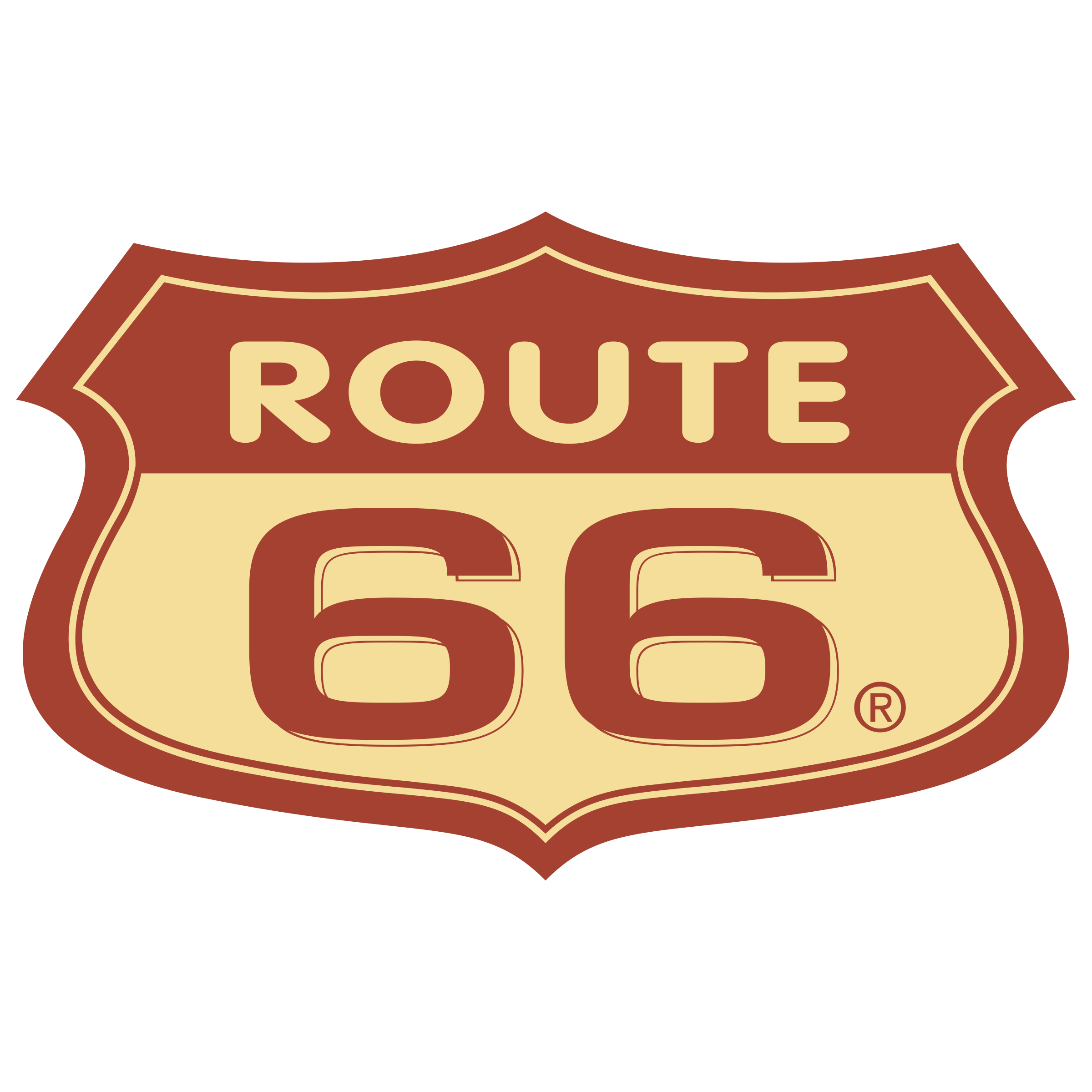 logo route 66. Black Bedroom Furniture Sets. Home Design Ideas