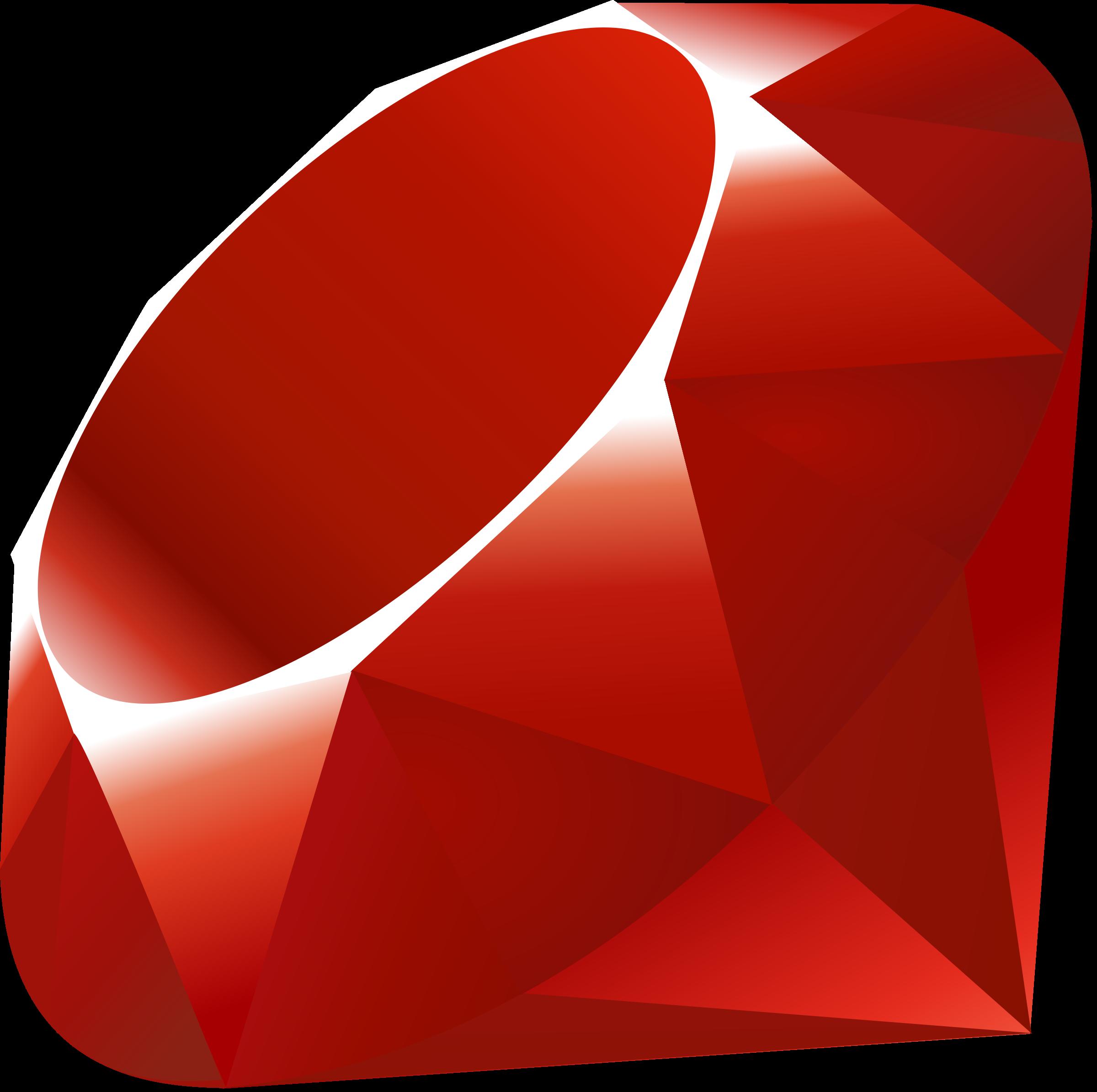 Ruby Logo PNG Transparent & SVG Vector - Freebie Supply