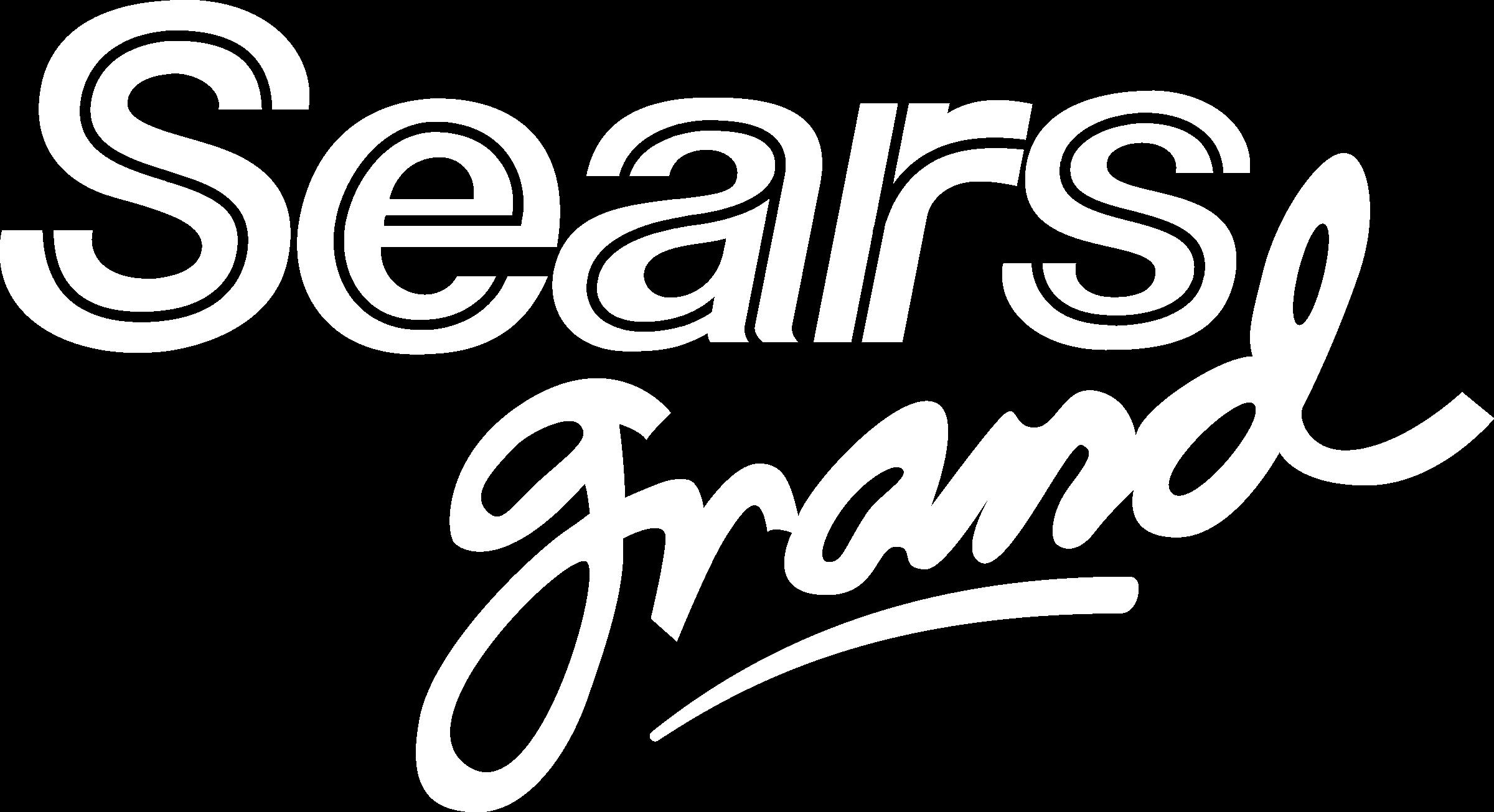 Sears Grand Logo Black And White