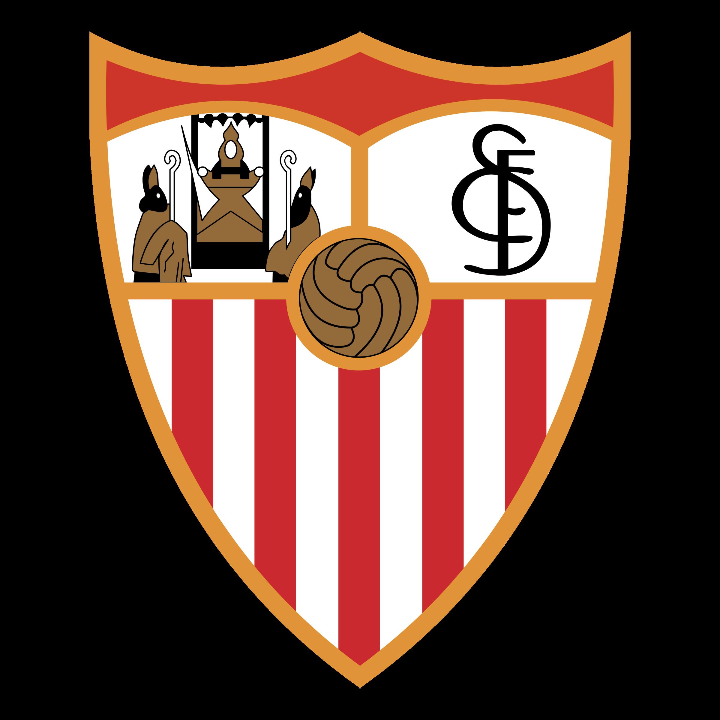 Sevilla FC Logo PNG Transparent & SVG Vector - Freebie Supply