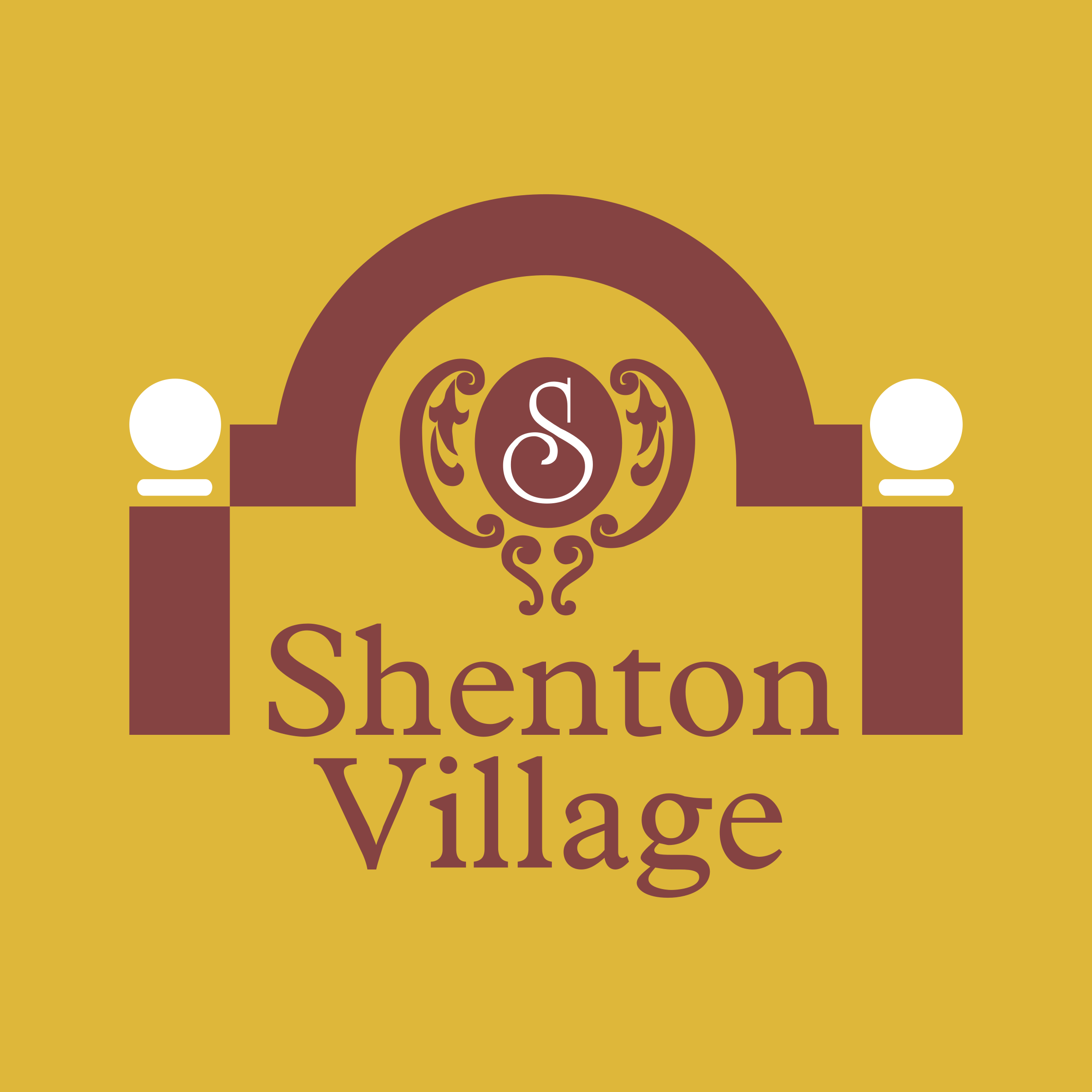 shenton village logo png transparent svg vector freebie supply