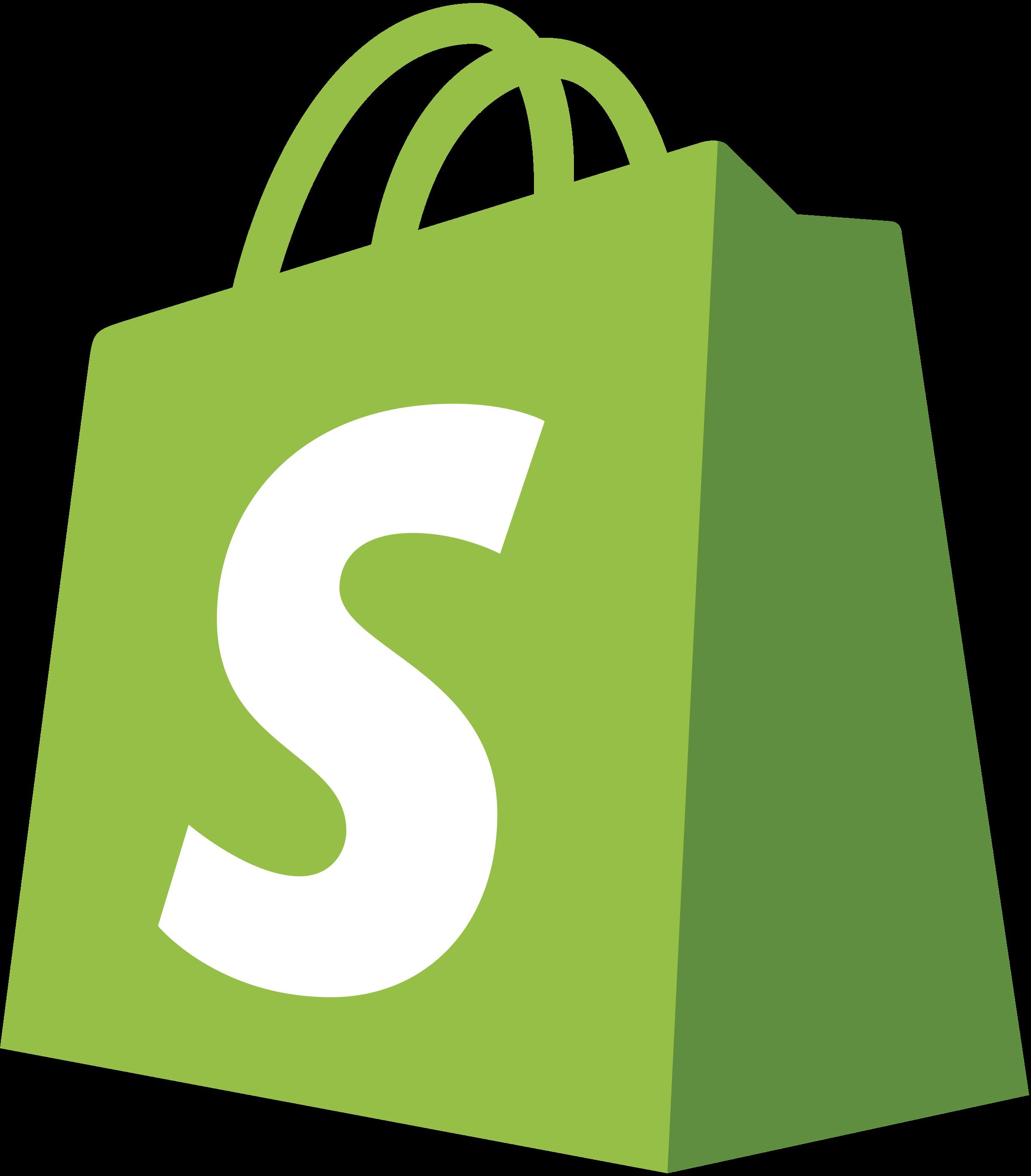 Shopify Logo PNG Transparent & SVG Vector - Freebie Supply