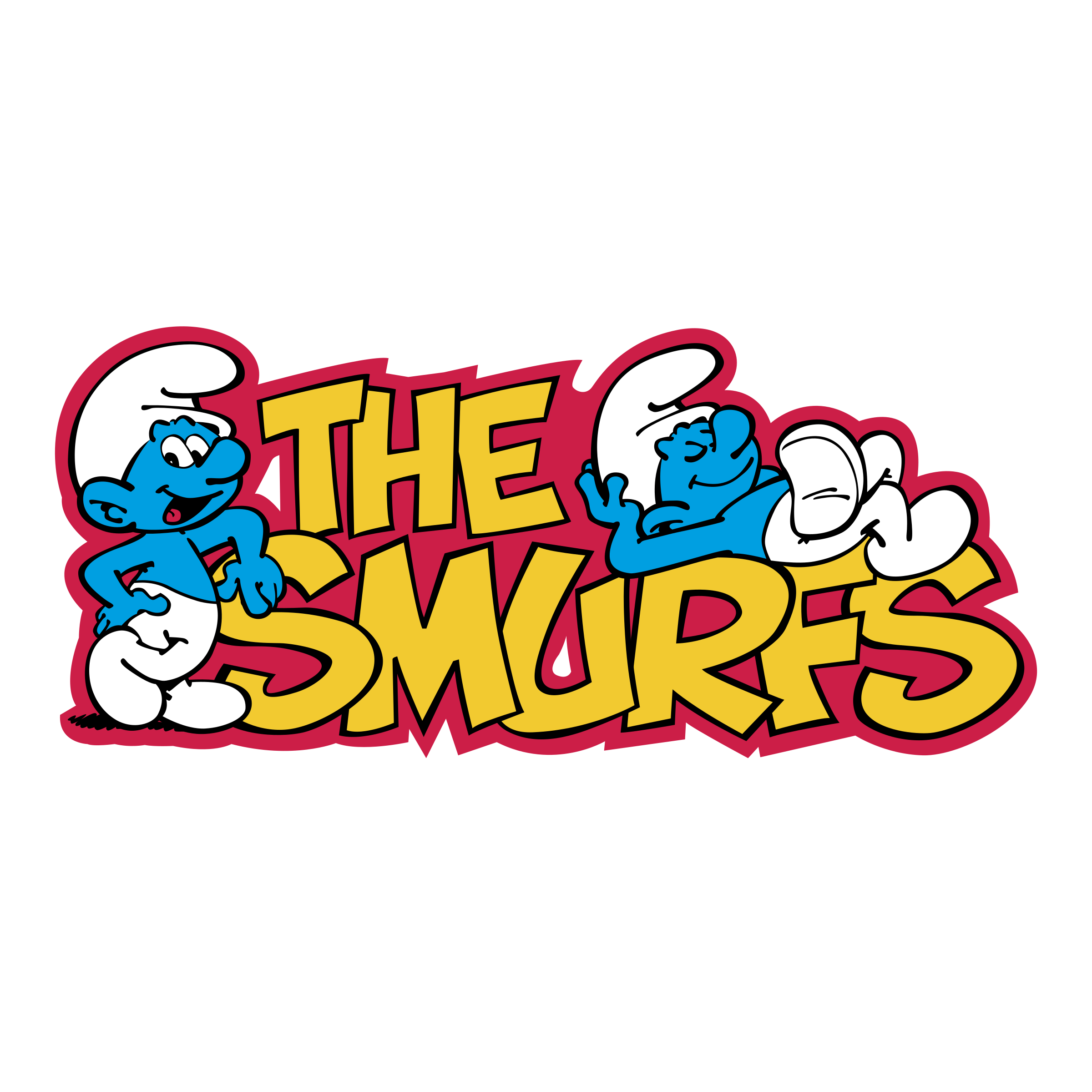 smurfs logo png transparent amp svg vector freebie supply