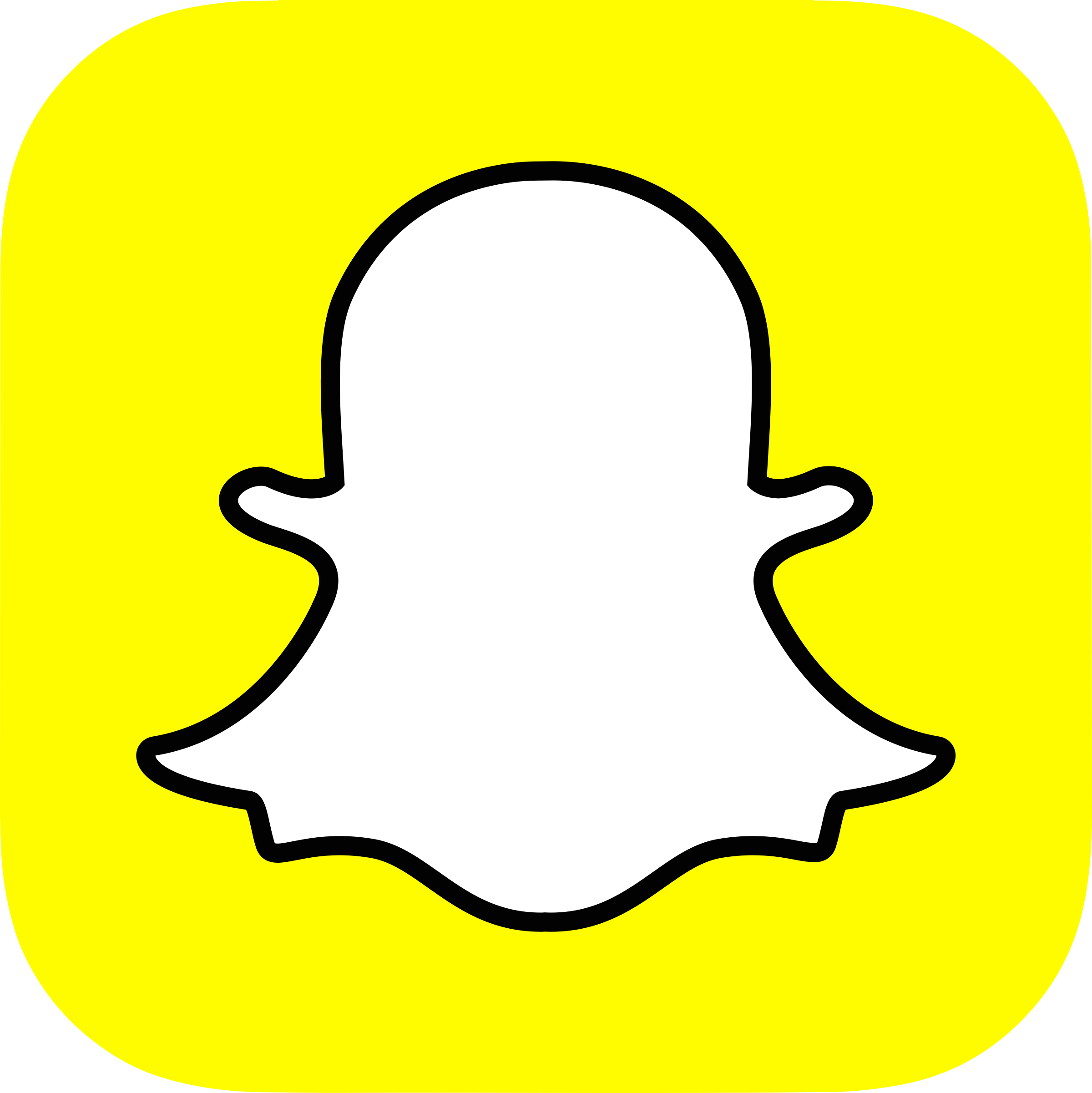 Snapchat Logo PNG Transparent & SVG Vector - Freebie Supply