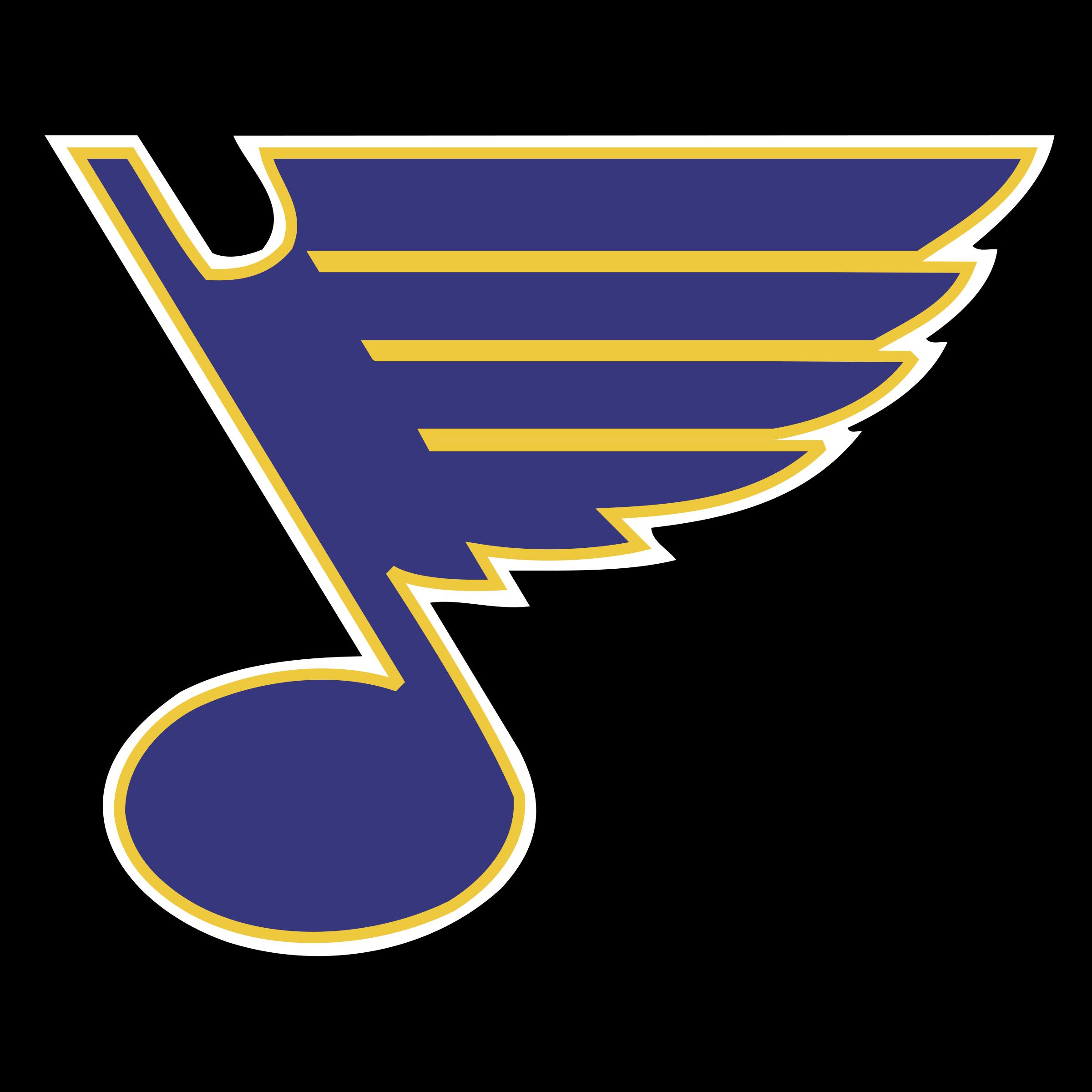 St Louis Blues Logo PNG Transparent SVG Vector
