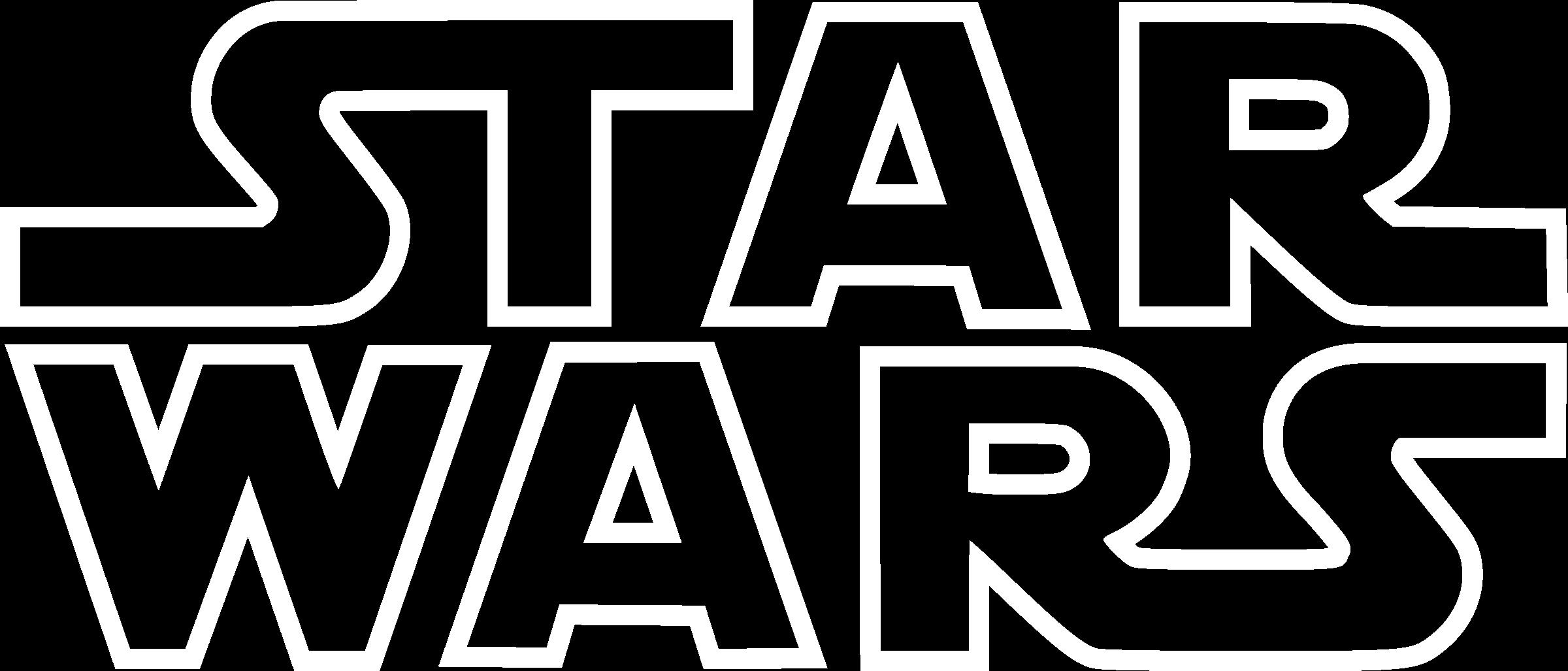 Star Wars Logo Outline Png Transparent Svg Vector Freebie Supply
