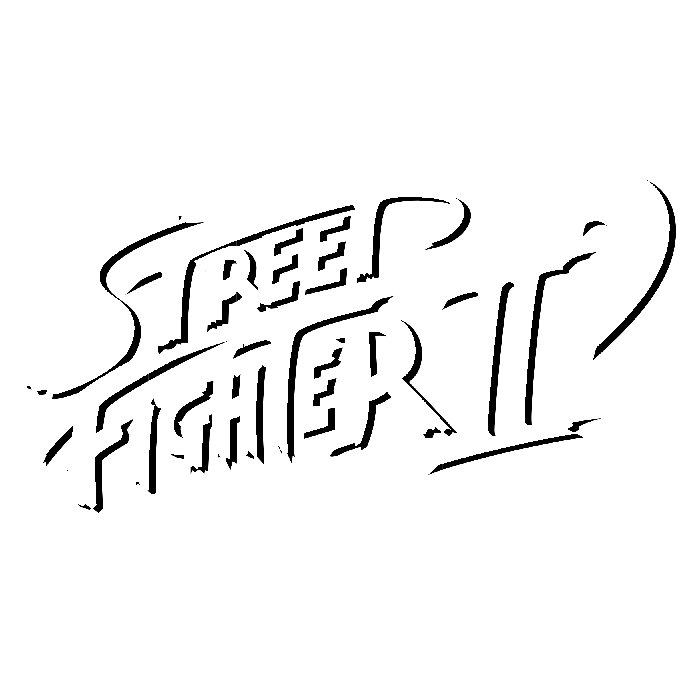 Street Fighter Ii Logo Png Transparent Svg Vector Freebie Supply