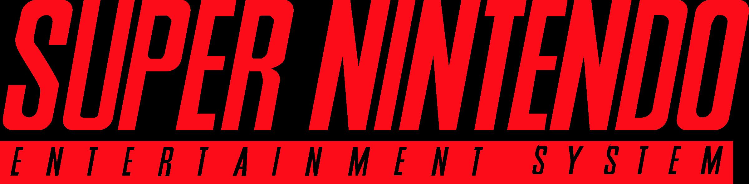 Super Nintendo Entertainment System Logo PNG Transparent ...