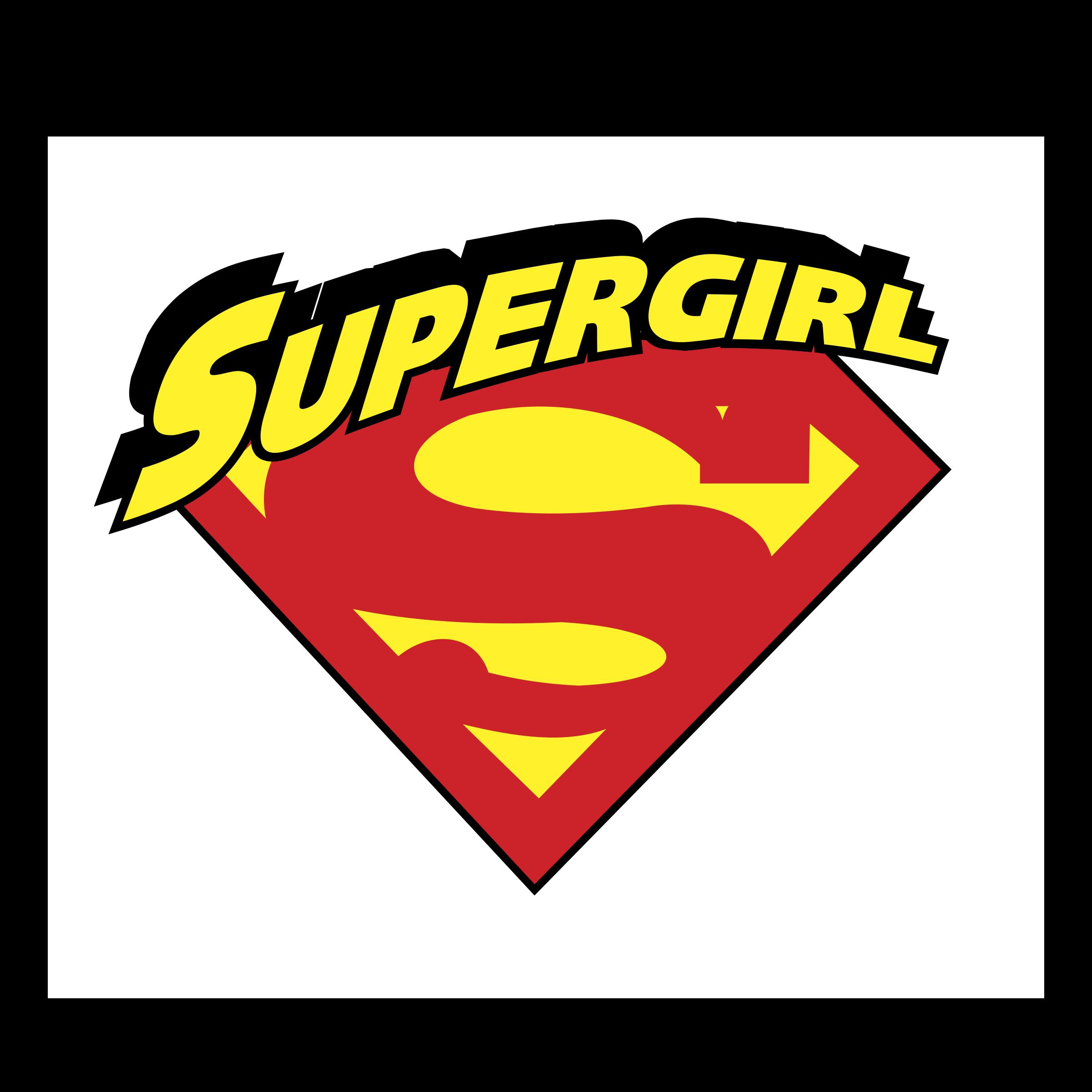 Supergirl Logo Png Transparent Amp Svg Vector Freebie Supply